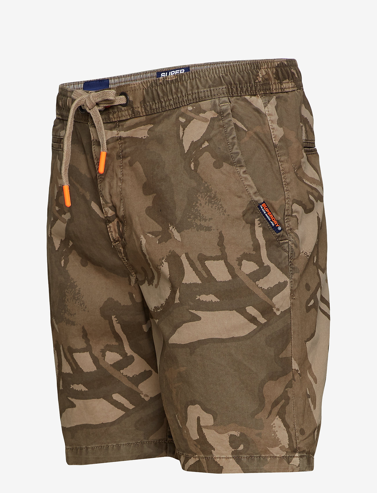 Superdry SUNSCORCHED SHORT - Badetøy SAND OUTLINE CAMO - Menn Klær
