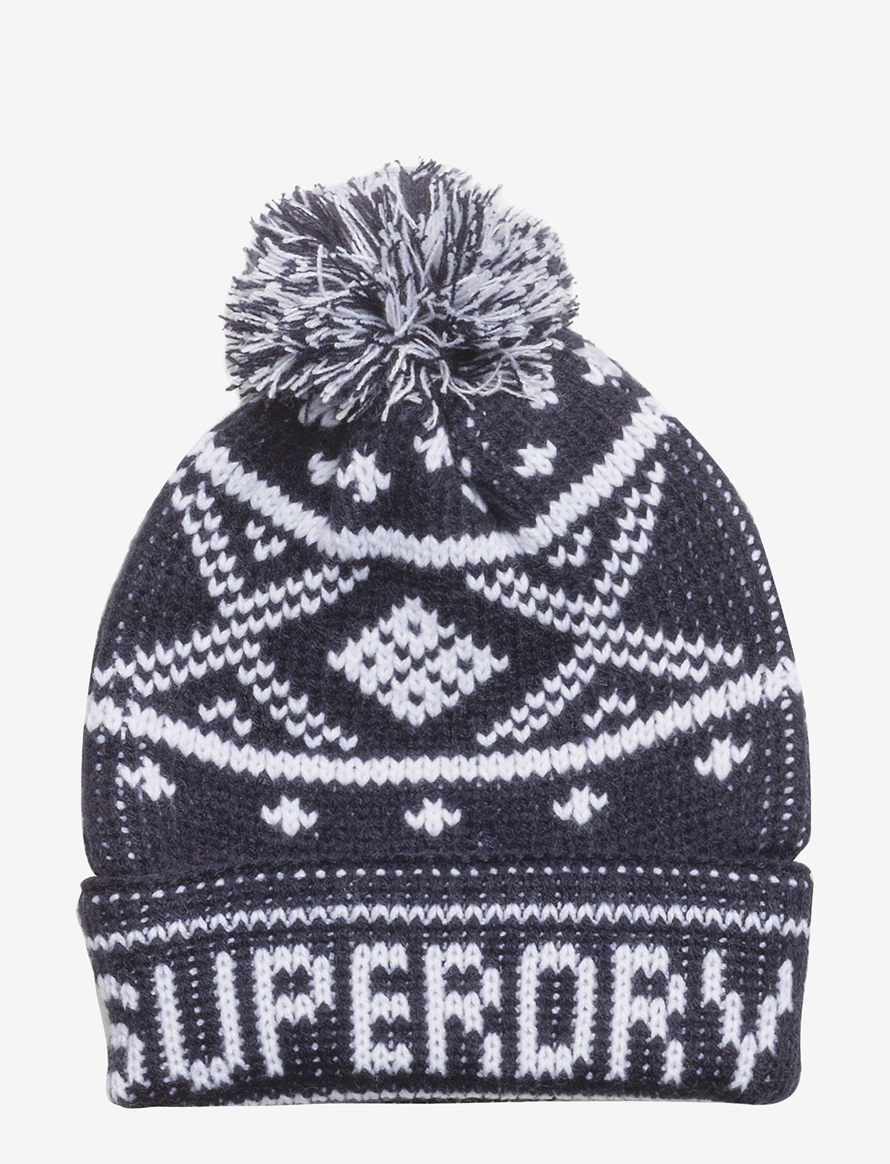 Superdry - OBAN BEANIE - bonnet - navy/white - 0