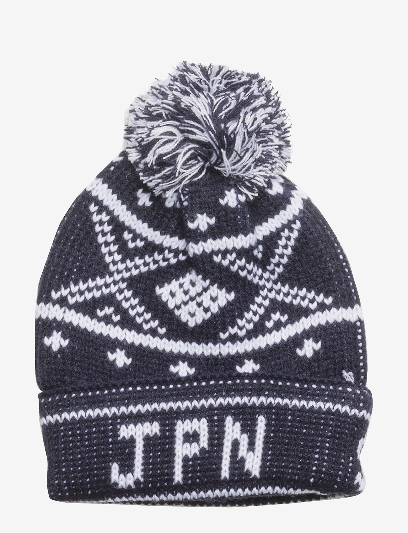 Superdry - OBAN BEANIE - bonnet - navy/white - 1
