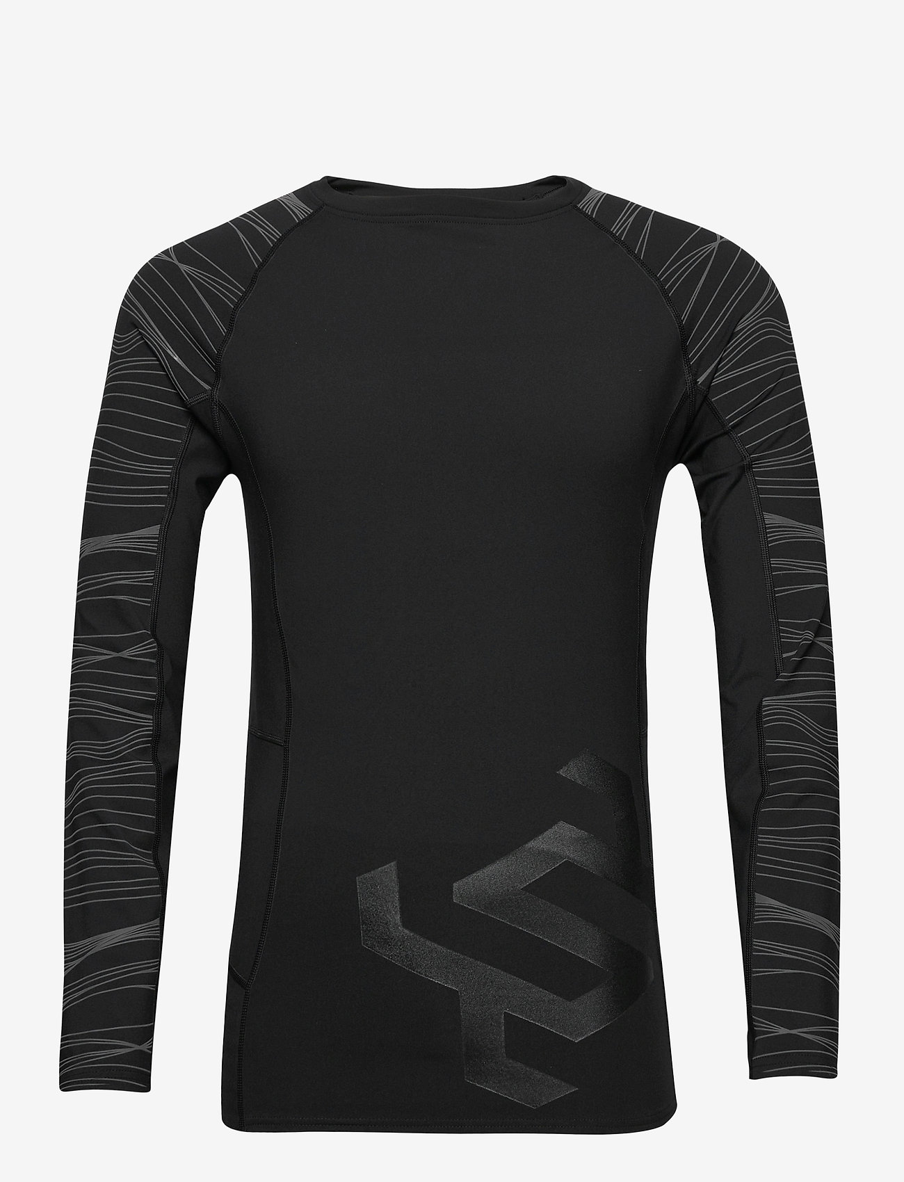 Superdry - PERFORMANCE INSULATE L/S TOP - thermo ondershirts - black - 0