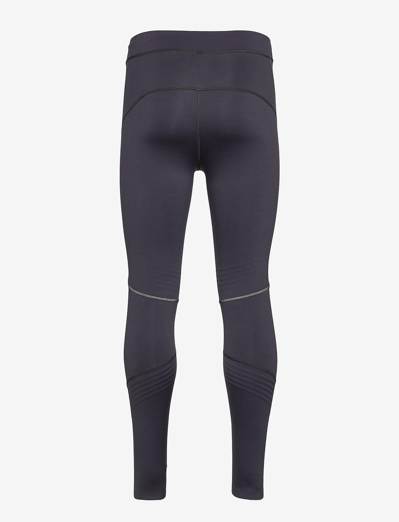 Superdry - PERFORMANCE FLOCK COMPRESSION LEGGING - spodnie treningowe - black - 1