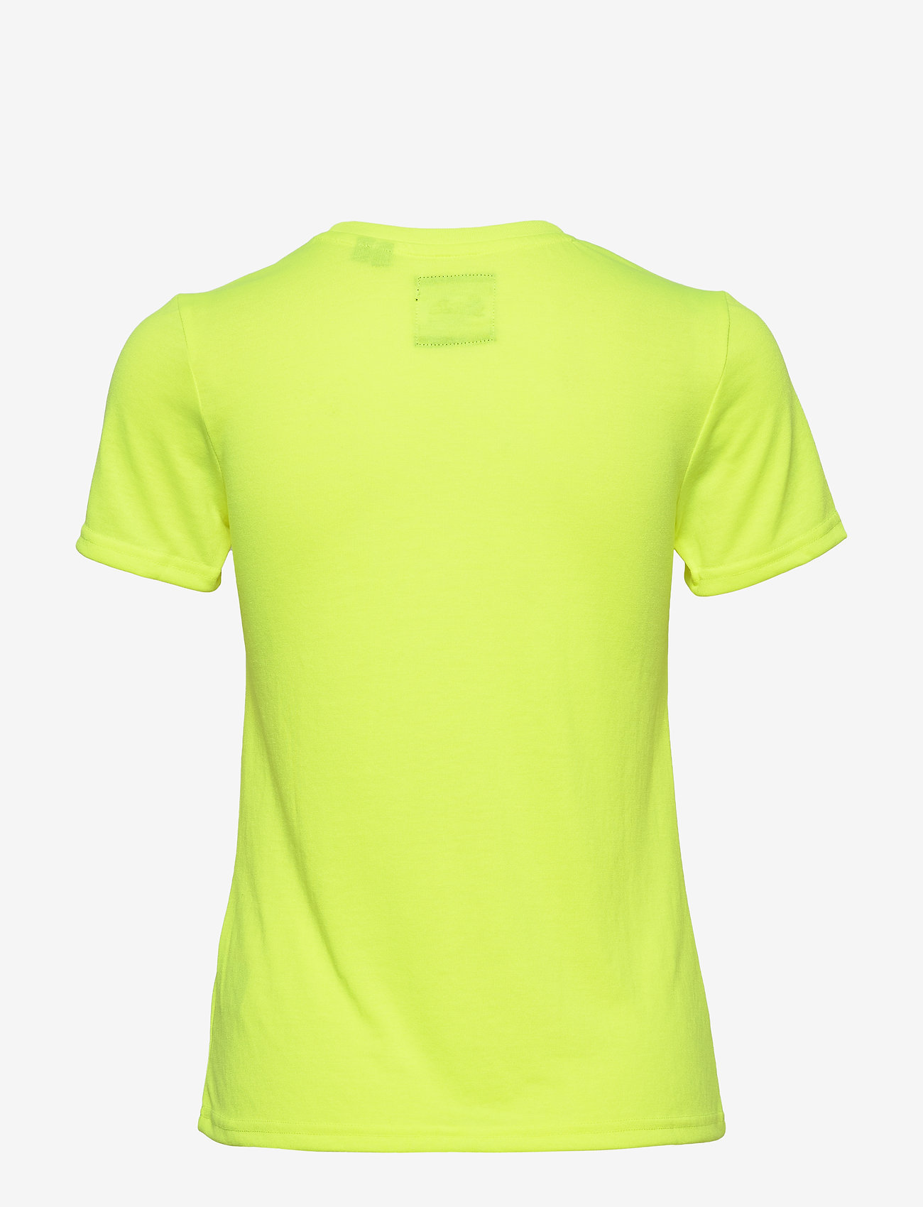 Vl Outline Pop Entry Tee (Neon Yellow) - Superdry lZnsdT