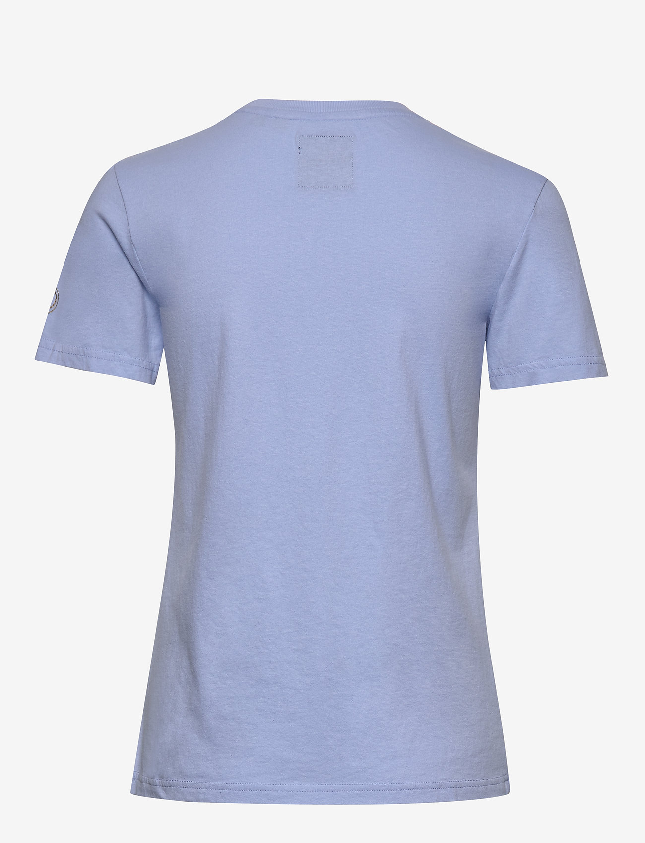Superdry Vl Emb Outline Entry Tee - T-shirts & Hauts Blue Heron