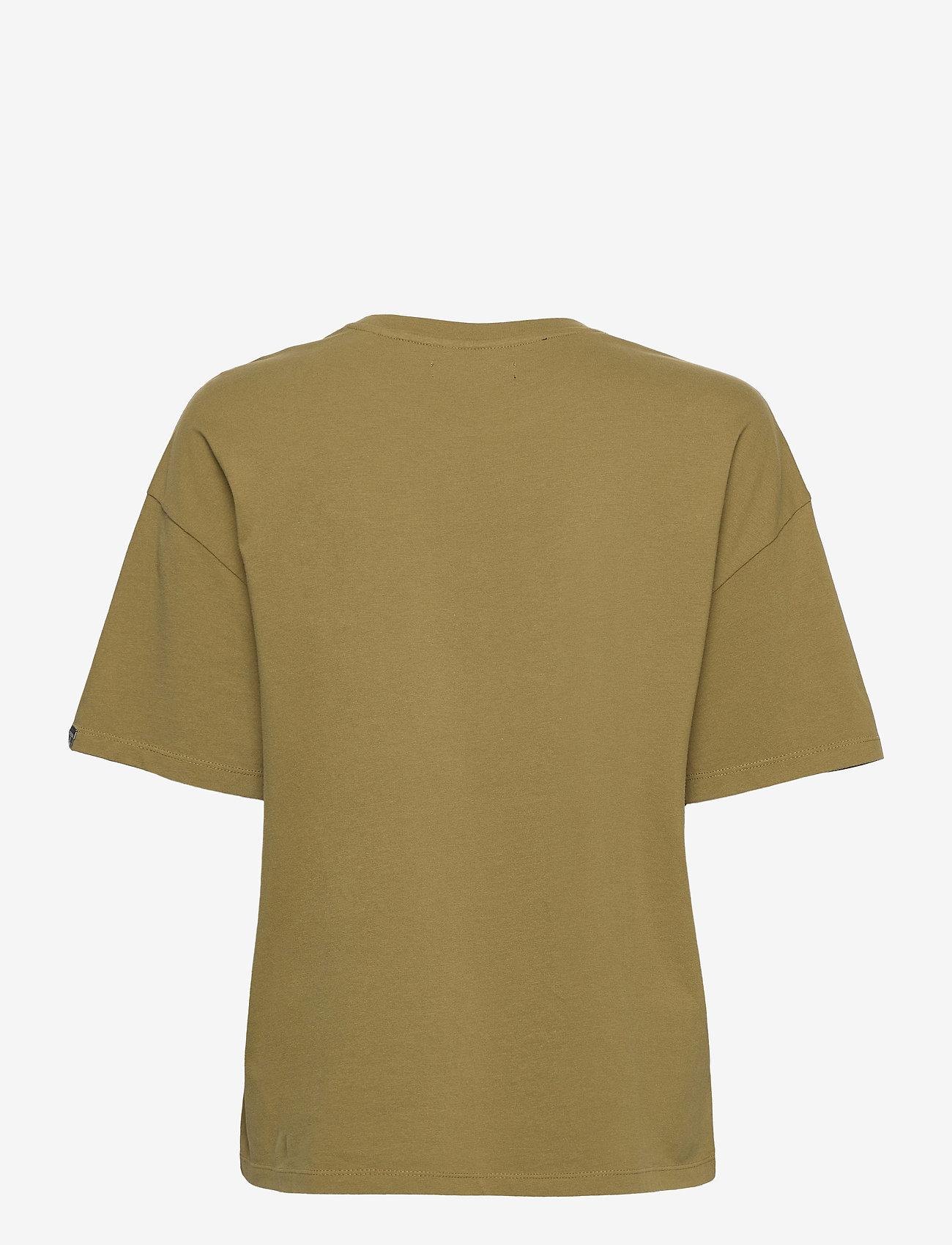 Superdry - MILITARY NARRATIVE BOXY TEE - t-shirts - shrubbery - 1