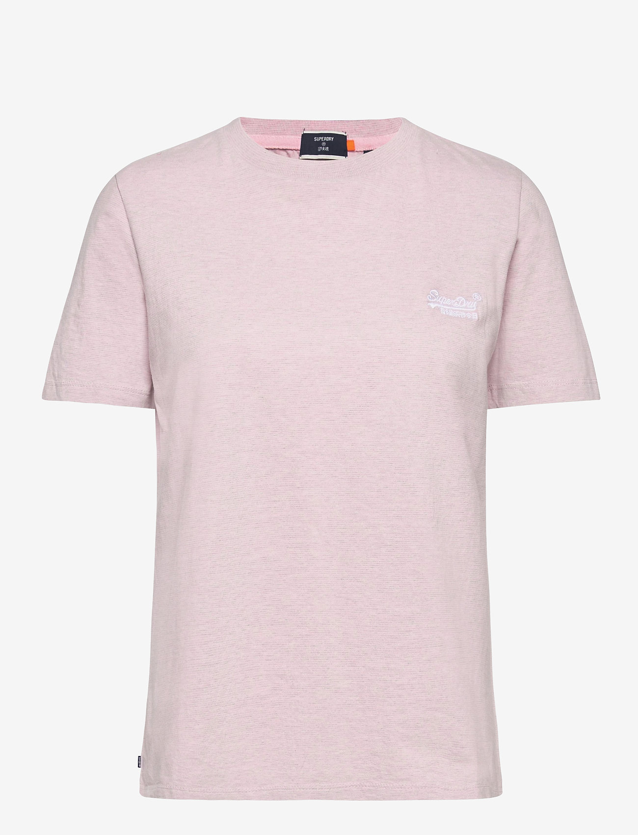 Superdry - OL CLASSIC TEE 180 - t-shirt & tops - chalk pink feeder - 0