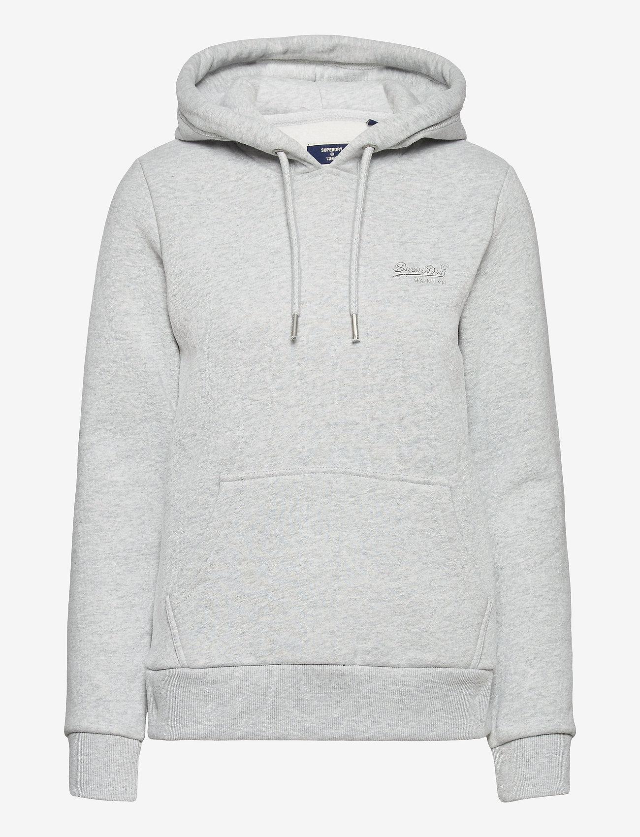 Superdry - OL CLASSIC HOOD BB - hoodies - light grey marl - 0