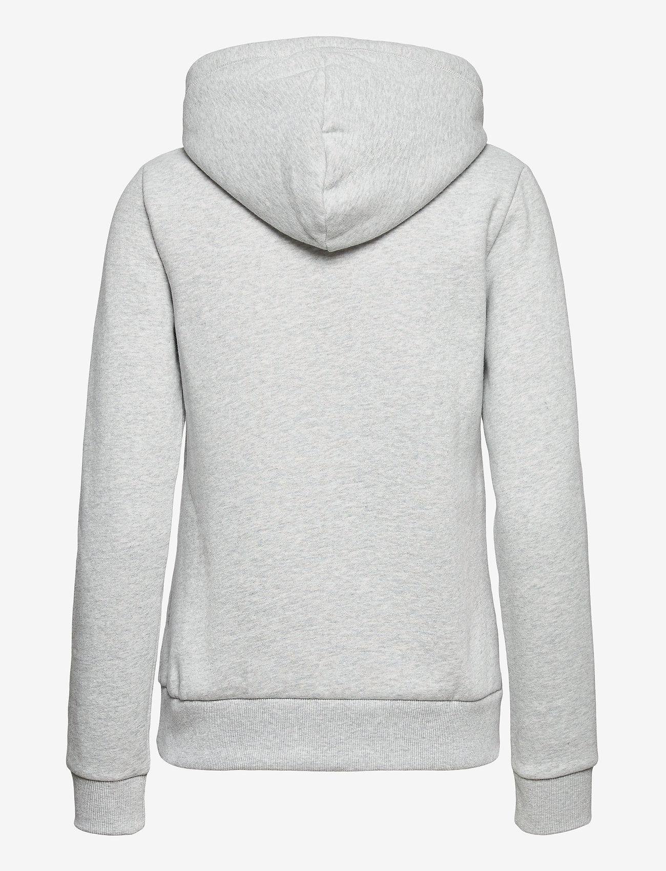 Superdry - OL CLASSIC HOOD BB - hoodies - light grey marl - 1