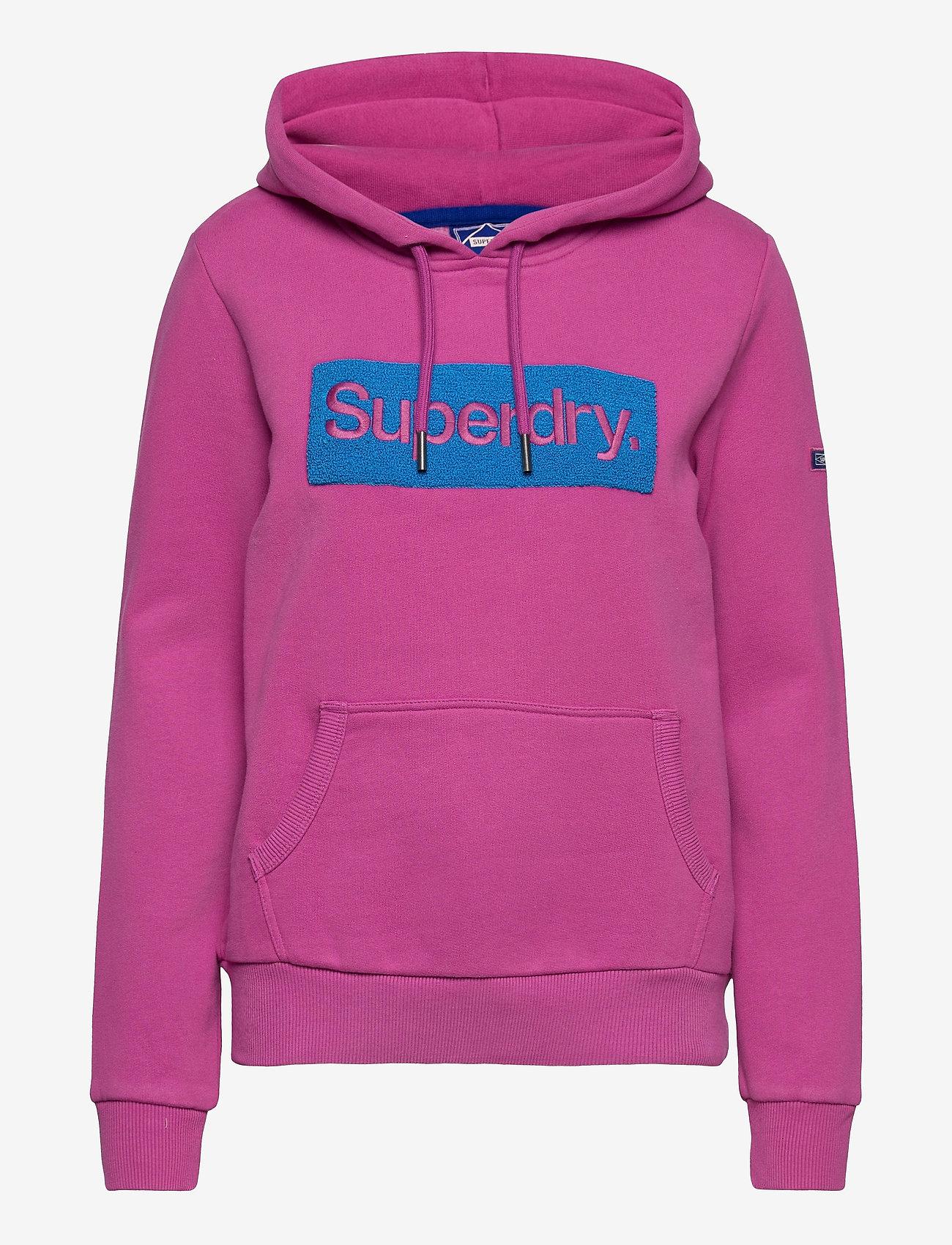 Superdry - CL WORKWEAR HOOD - hoodies - dusty wine - 0