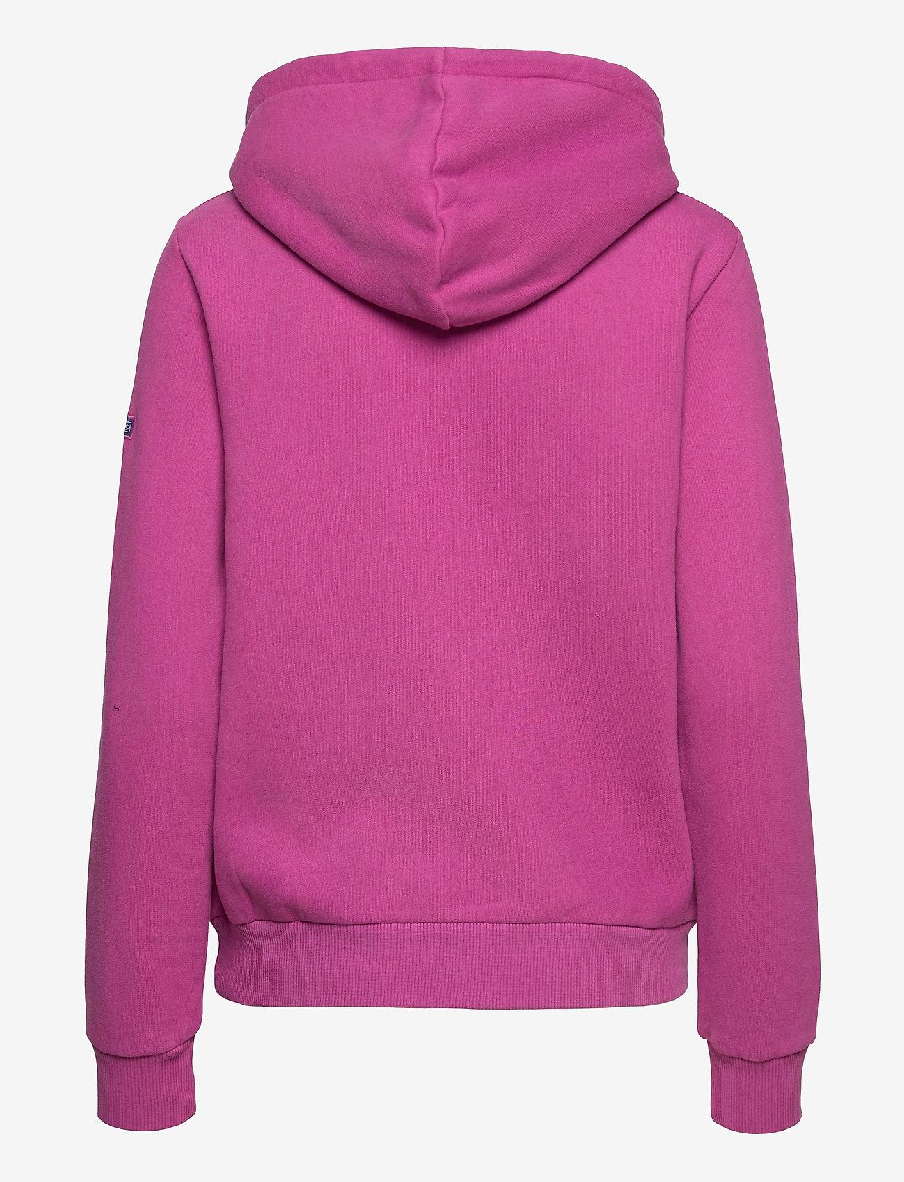 Superdry - CL WORKWEAR HOOD - hoodies - dusty wine - 1
