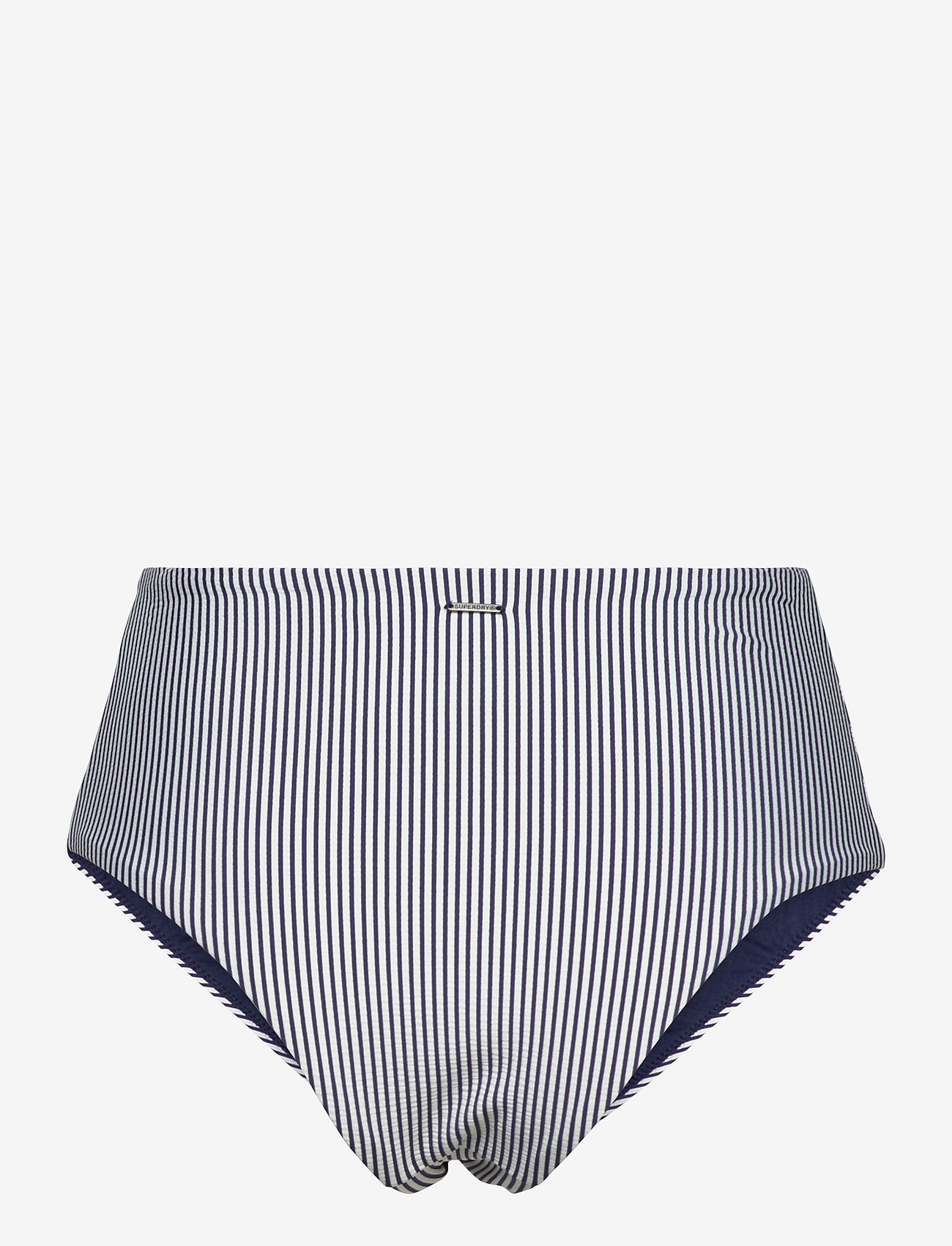 Superdry - HIGH WAIST BIKINI BRIEF - bikini bottoms - regal navy - 1