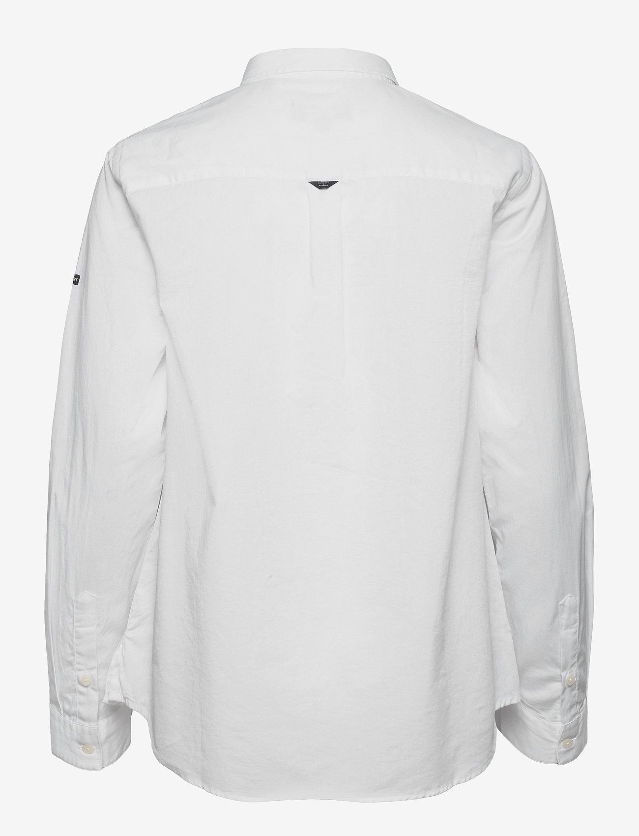 Superdry - MODERN TAILOR LS SHIRT - langærmede skjorter - optic - 1