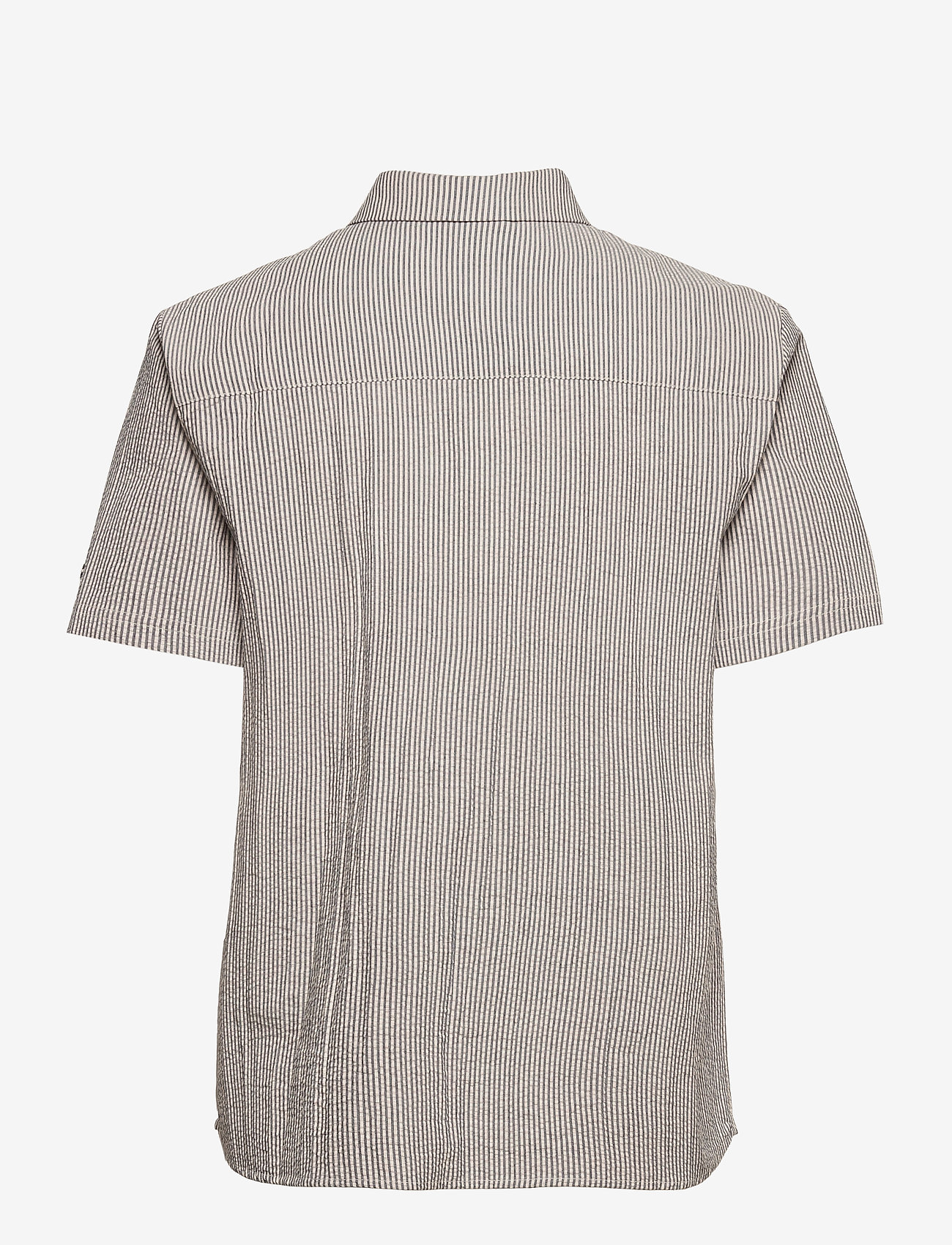Superdry - STUDIOS SS SHIRT - short-sleeved shirts - navy stripe - 1