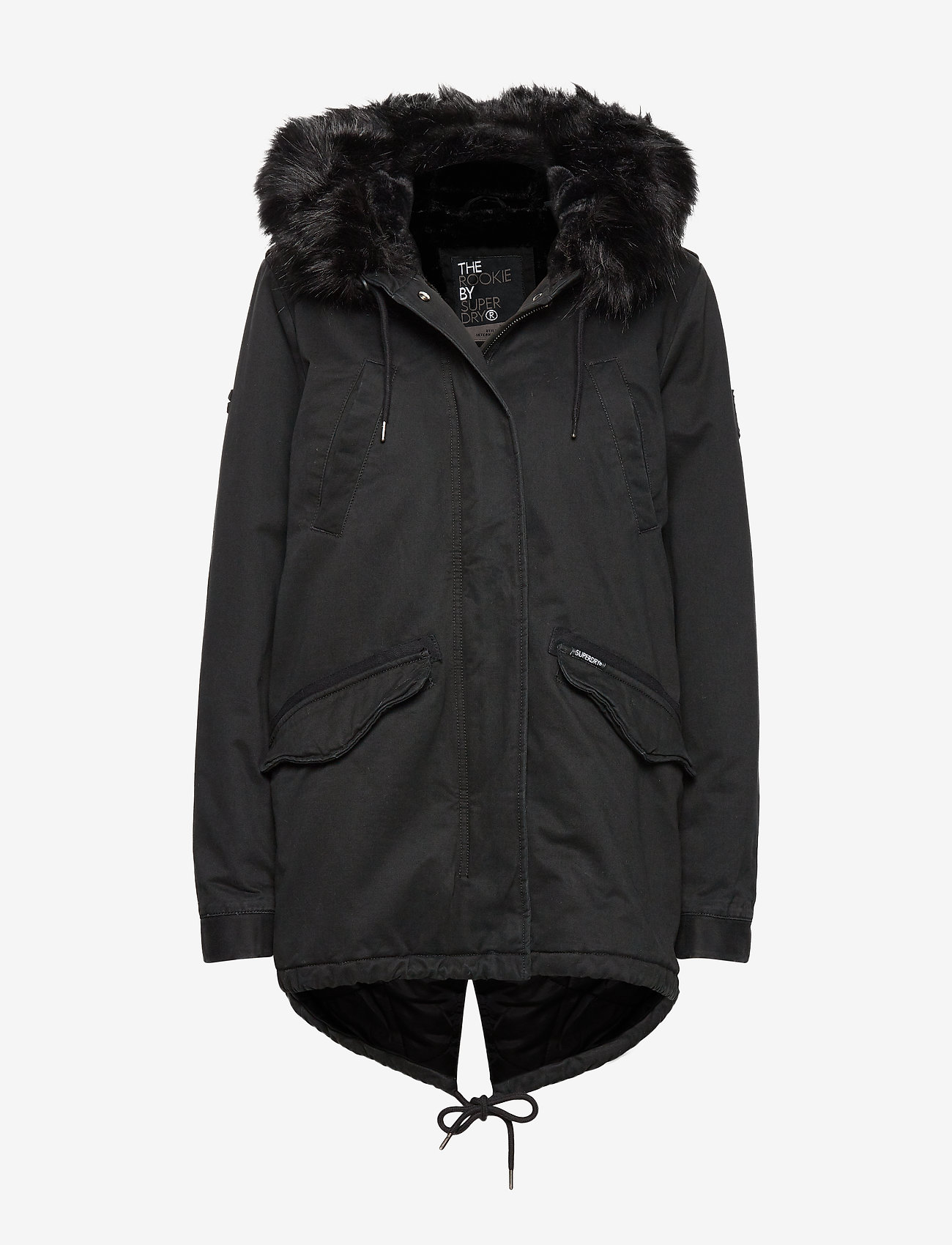 Superdry - FALCON ROOKIE PARKA - parka coats - military black - 0