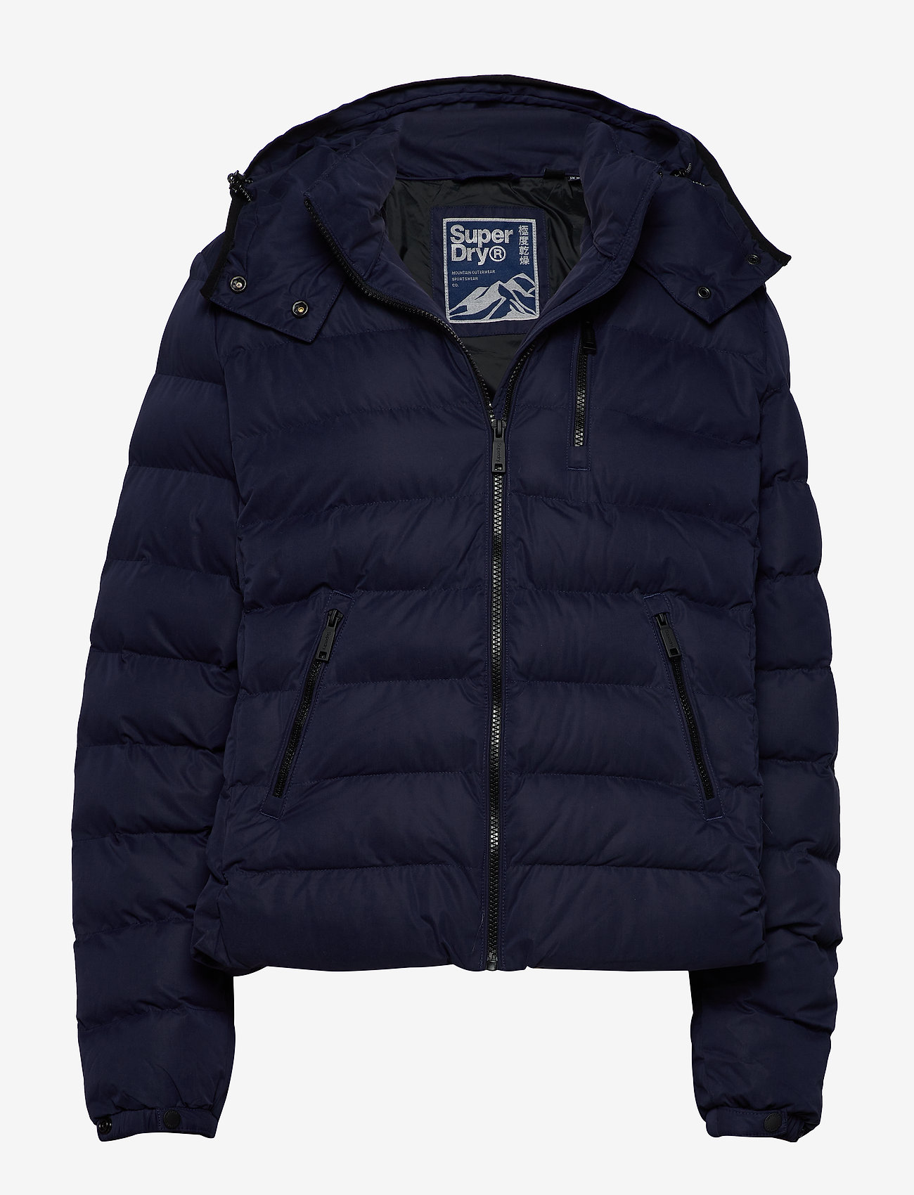 Superdry - Summer Microfibre Jacket - fôrede jakker - atlantic navy