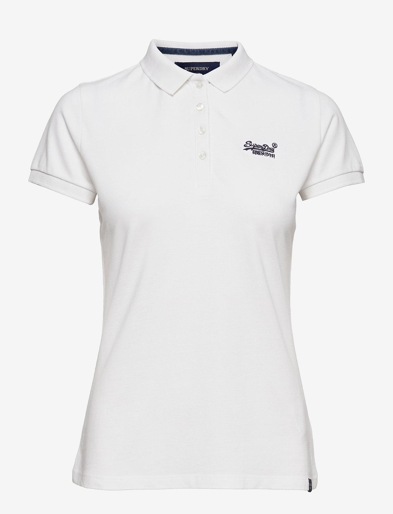 Superdry - POLO SHIRT - polo shirts - chalk white - 0