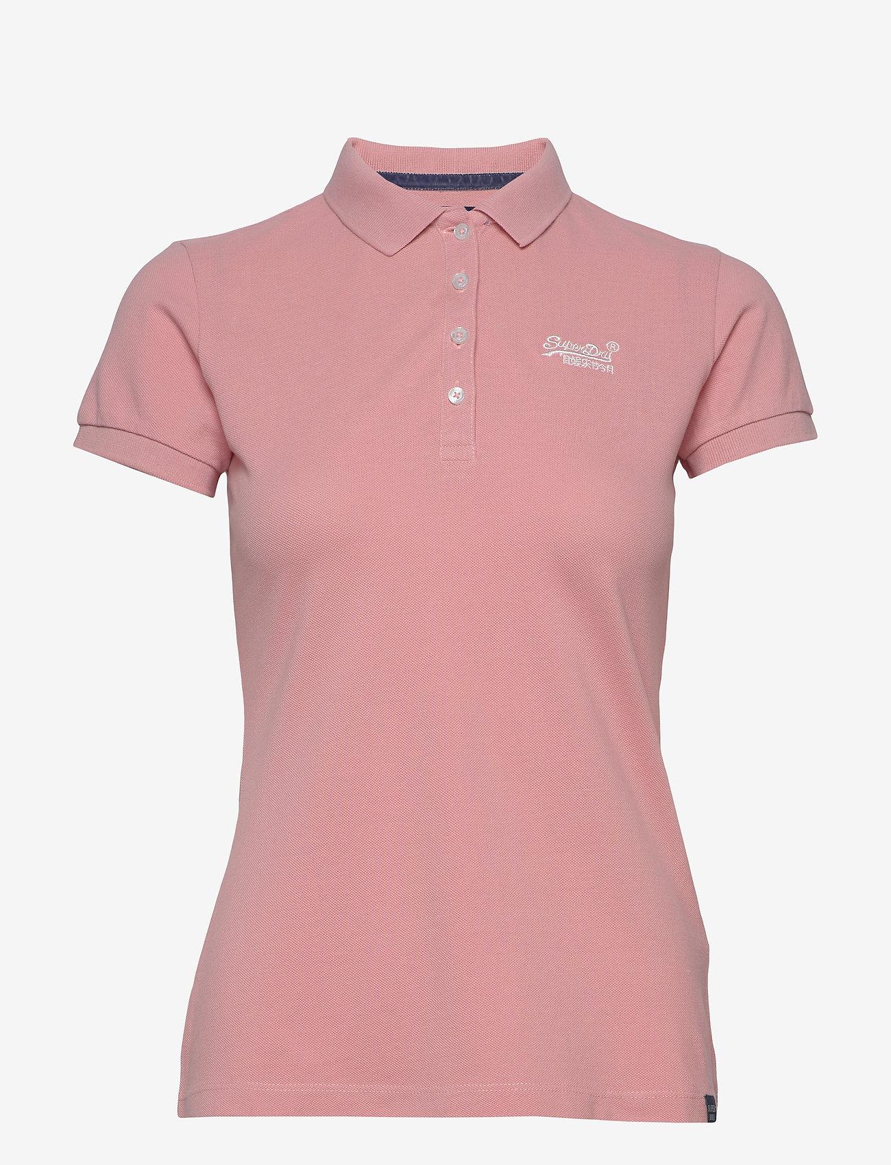 Superdry - POLO SHIRT - polohemden - soft pink - 0