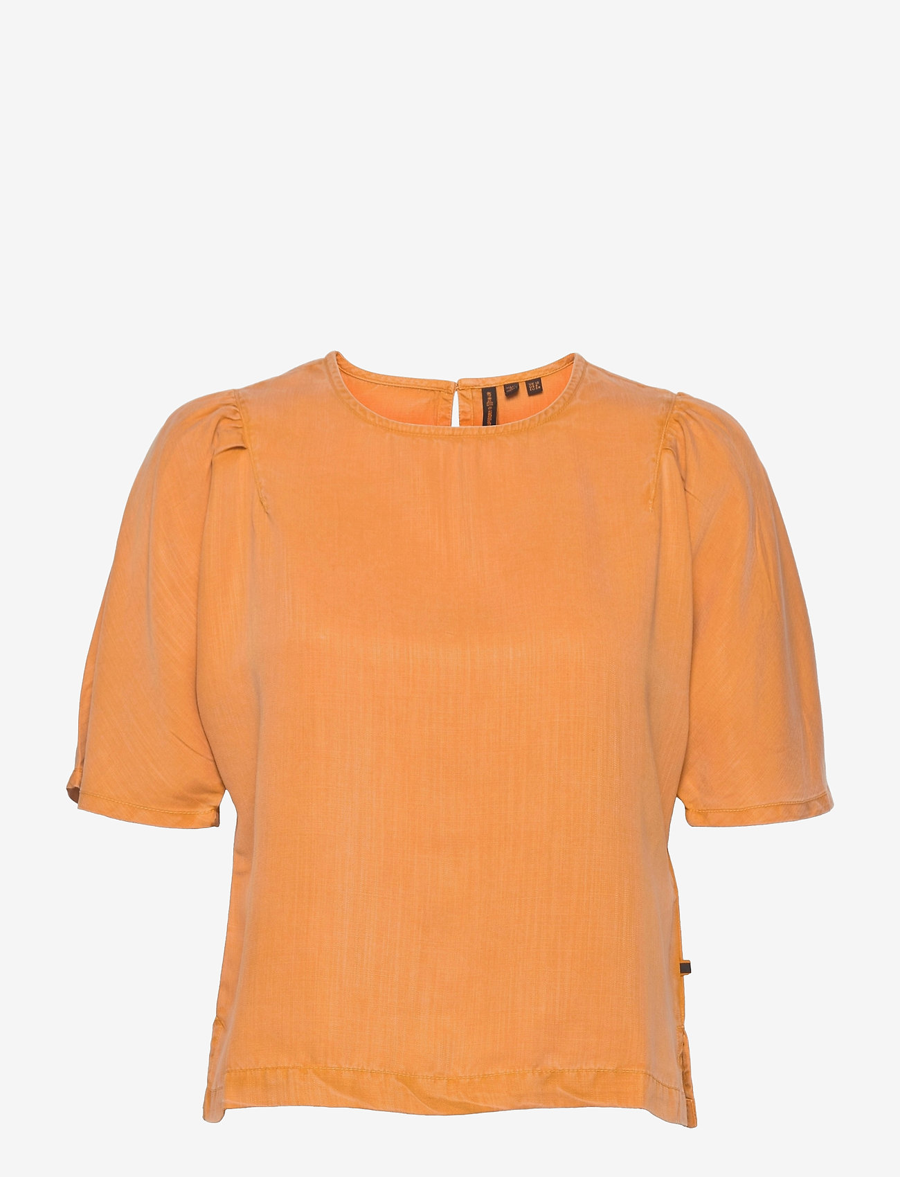 Superdry - WOVEN TSHIRT - short-sleeved blouses - sunset - 0