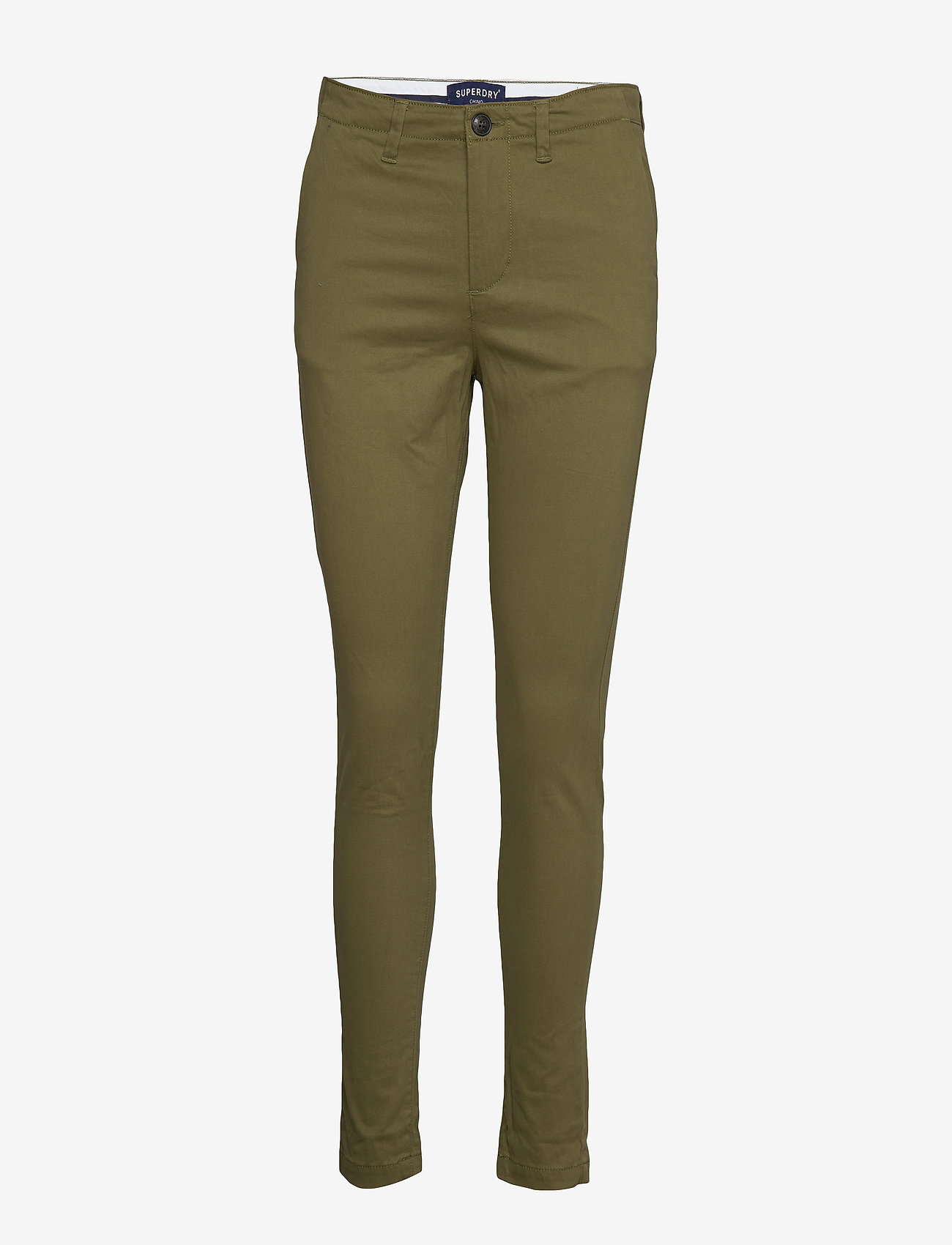 Superdry - NEW CITY CHINO - chinos - capulet olive - 0