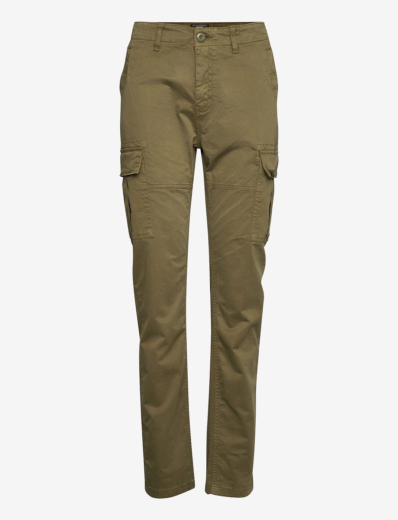 Superdry - Slim Cargo Pant - slim fit trousers - tuscan olive - 0