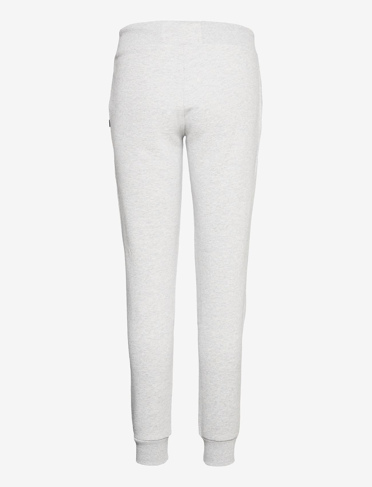 Superdry - OL CLASSIC JOGGER - sweatpants - light grey marl - 1