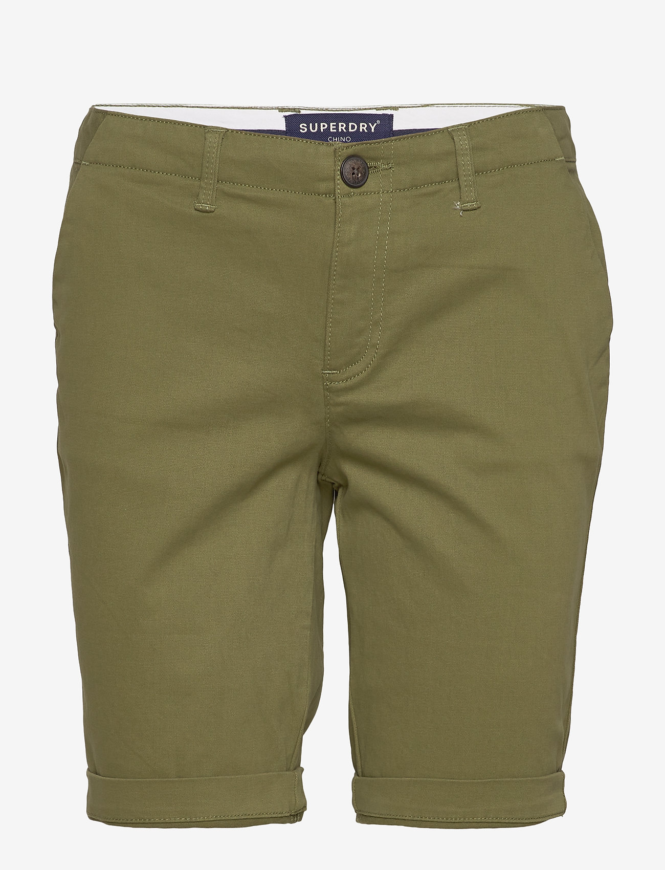 Superdry - CITY CHINO SHORT - bermuda-shortsit - capulet olive - 0