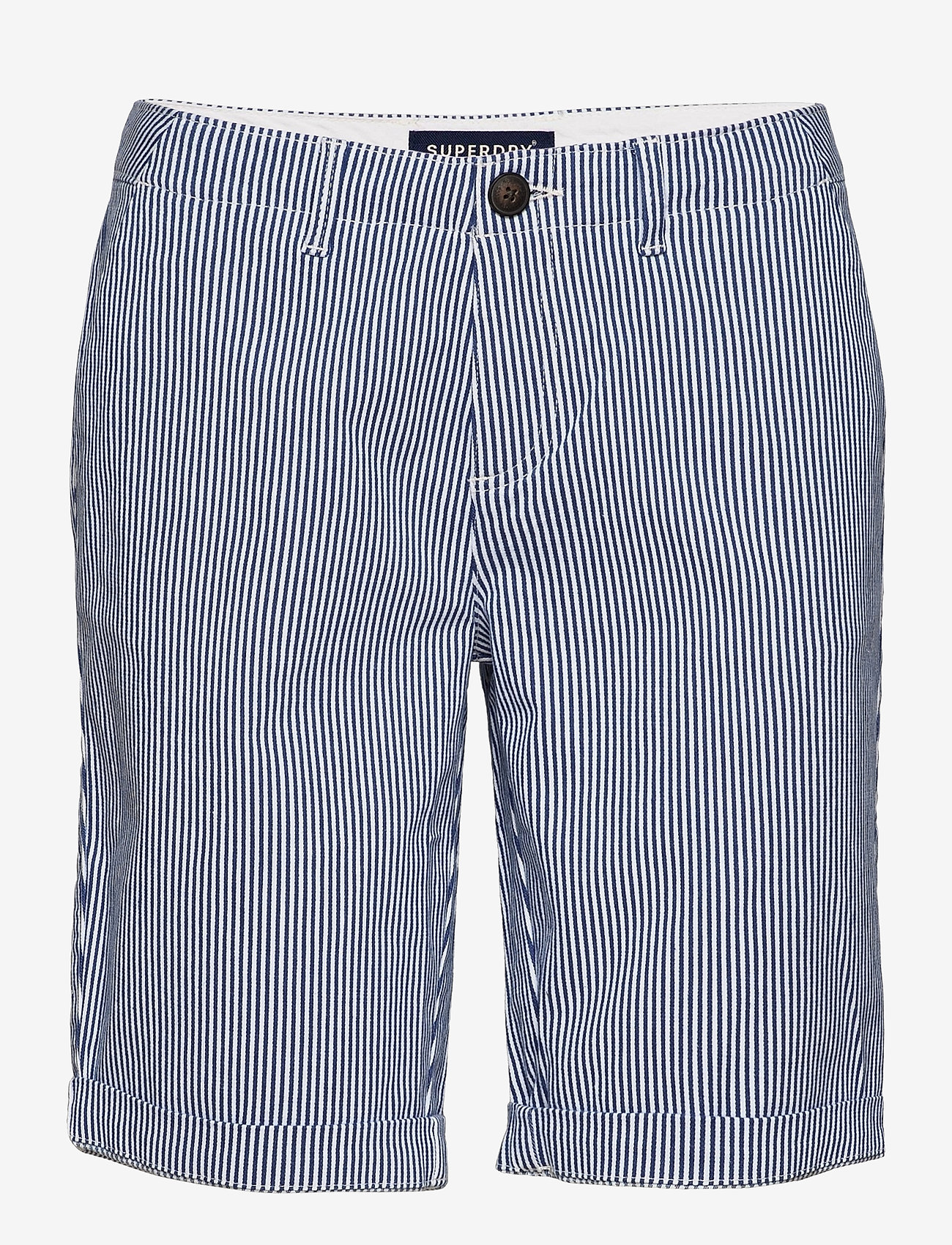 Superdry - City Chino Short - bermudas - navy stripe - 0