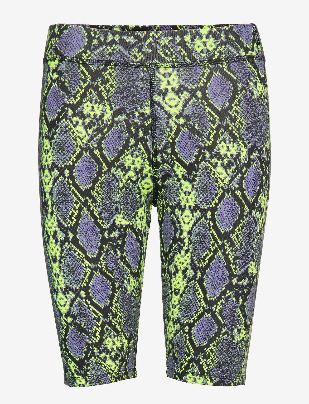 Superdry - DESERT BIKE SHORT - cycling shorts - neon snake print - 0