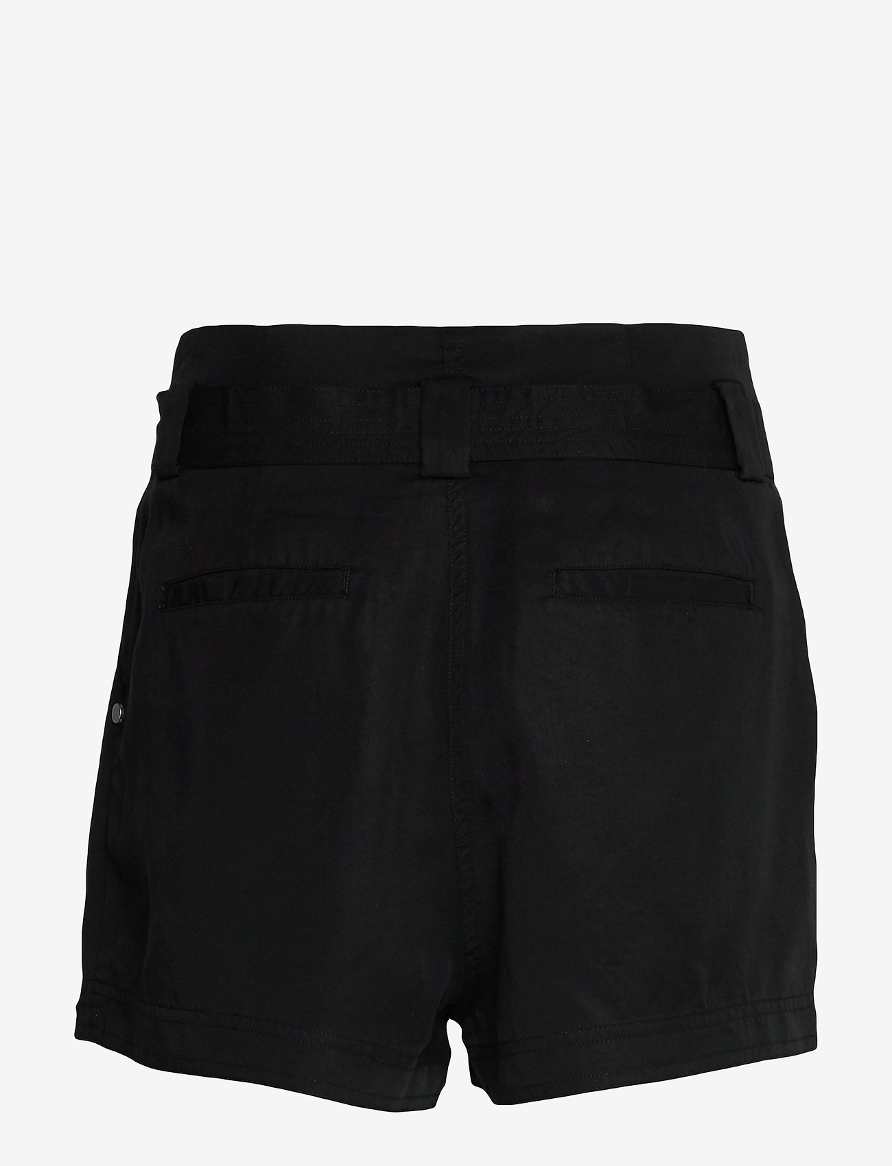 Superdry - DESERT PAPER BAG SHORT - casual shortsit - black - 1