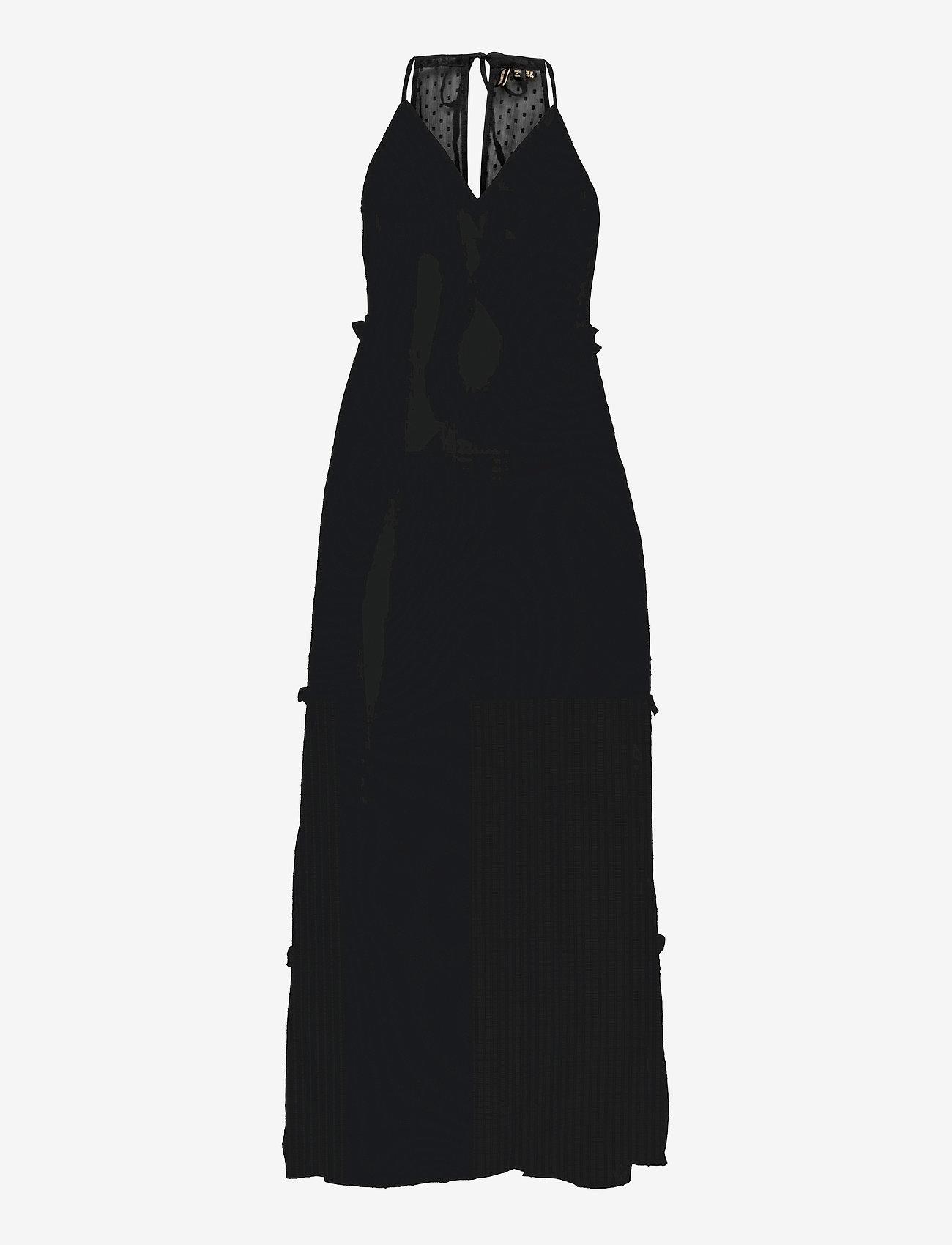 Superdry - MARGAUX MAXI DRESS - kveldskjoler - black - 0