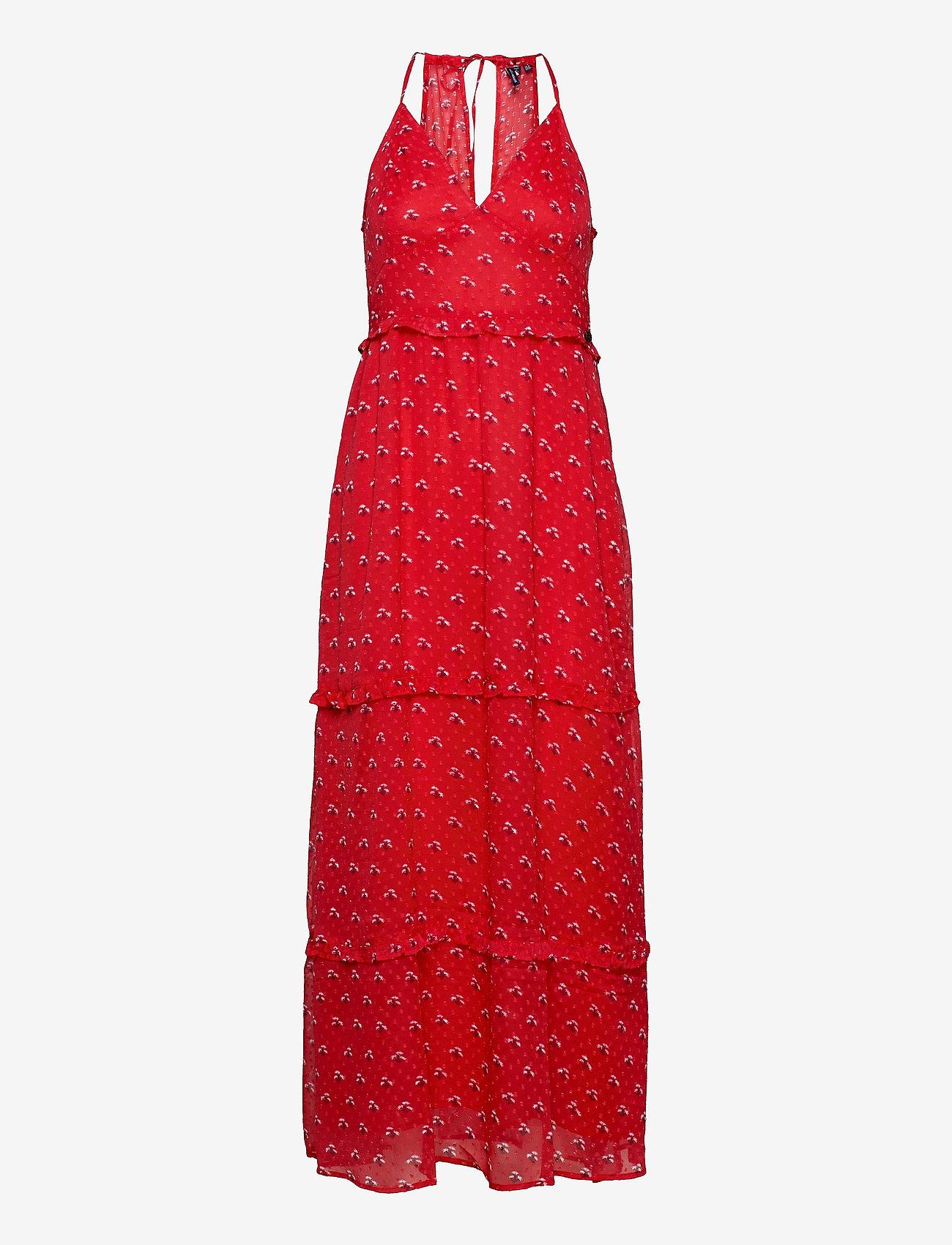 Superdry - MARGAUX MAXI DRESS - kveldskjoler - hibiscus ditsy - 0