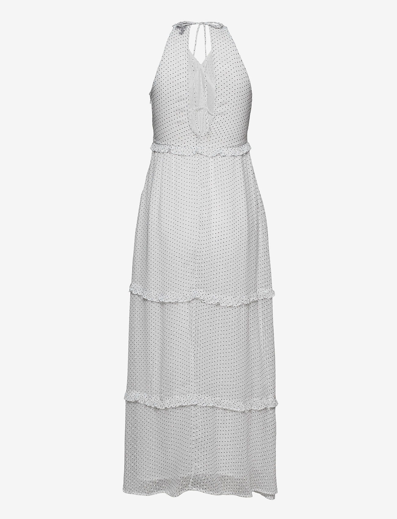 Superdry - MARGAUX MAXI DRESS - kveldskjoler - white polka dot - 1