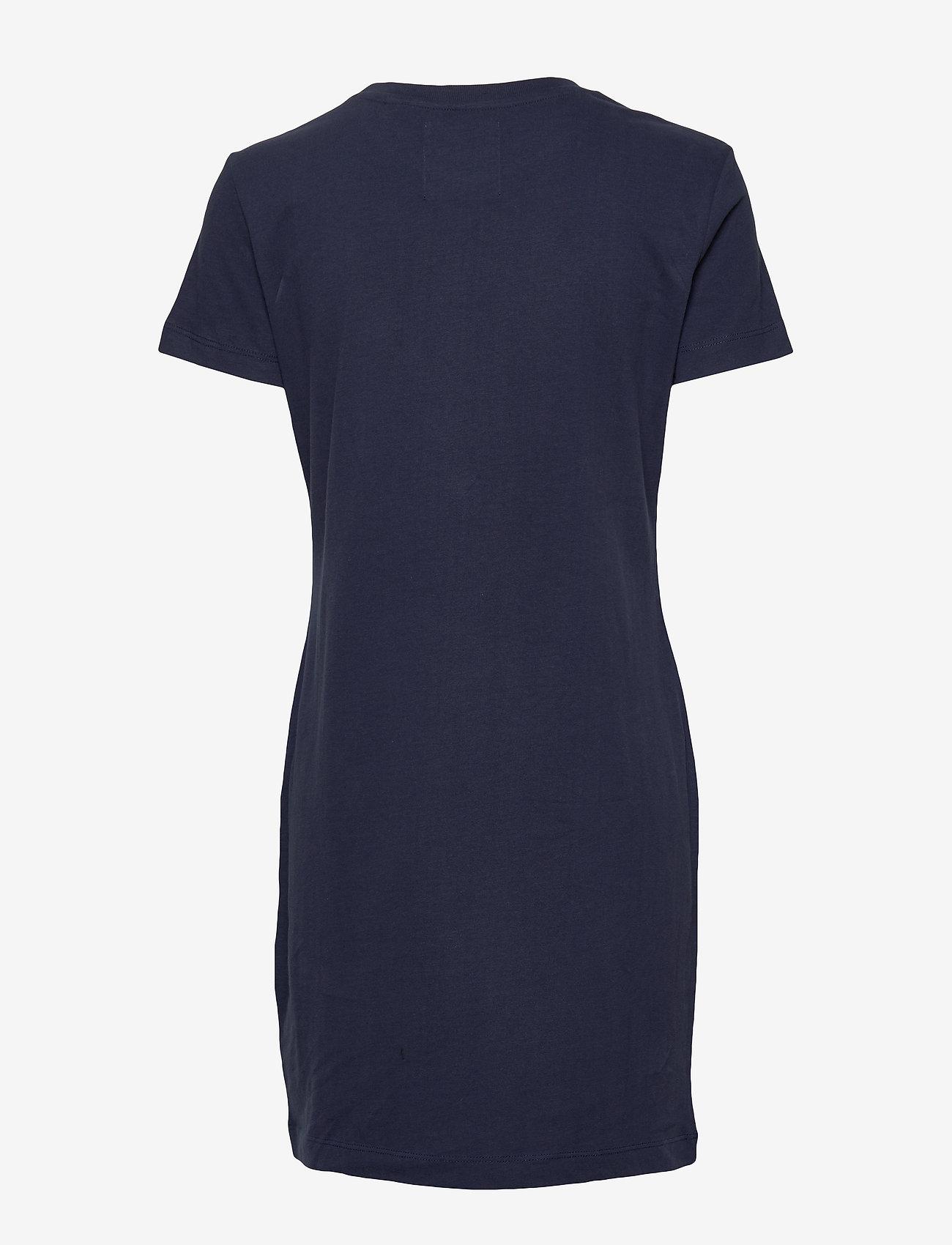 Superdry Ol T_ Shirt Dress - Klänningar Atlantic Navy