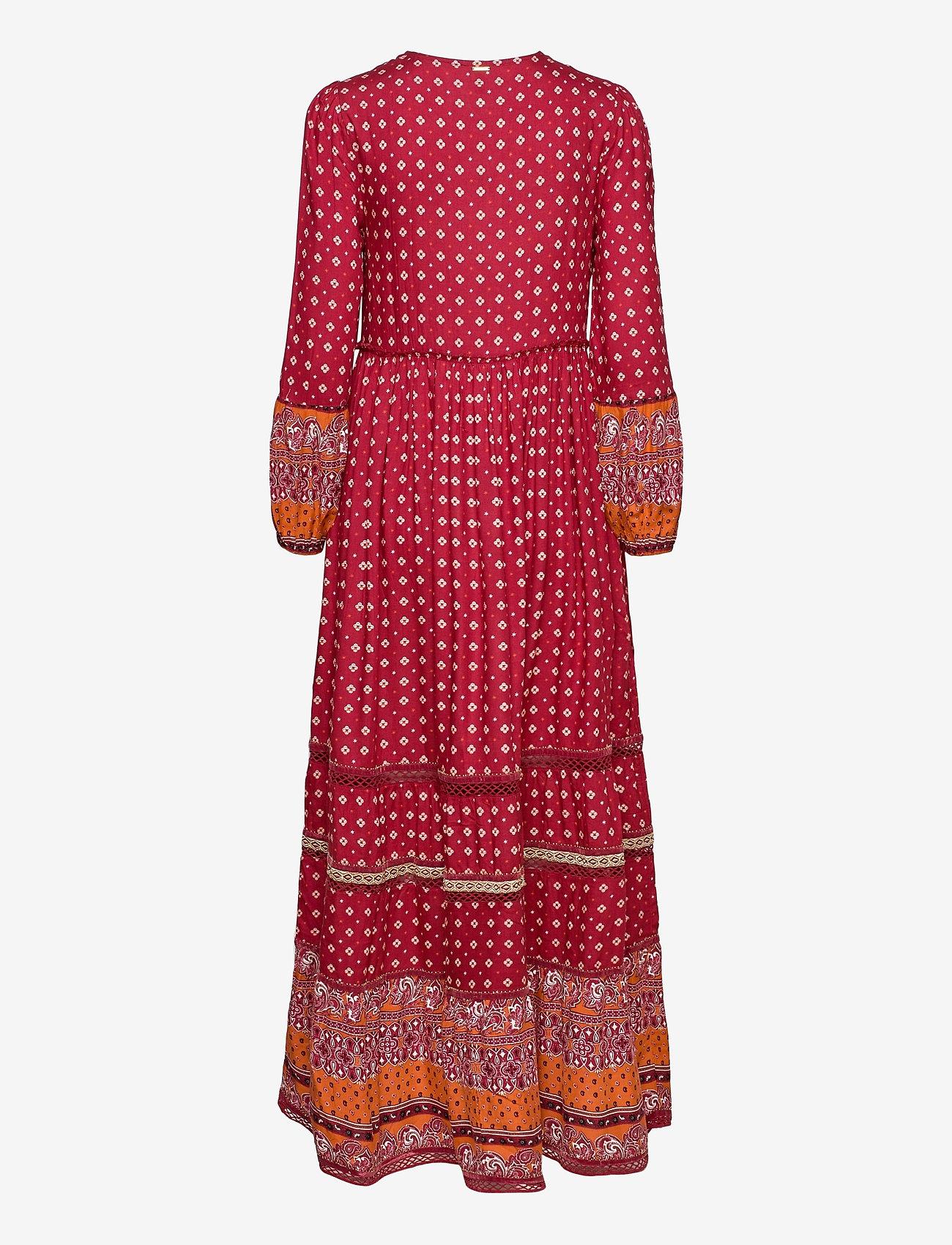 Superdry - AMEERA MAXI DRESS - everyday dresses - rust - 1