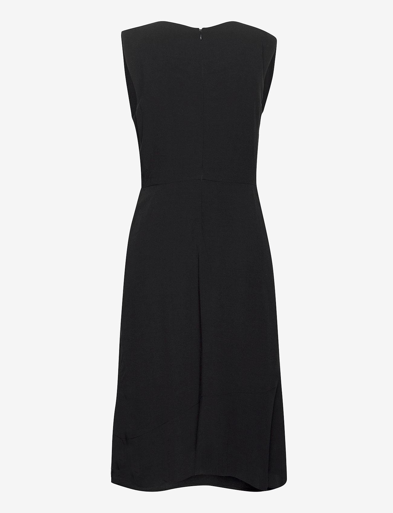 Superdry - ECOVERO TWIST DRESS - summer dresses - black - 1