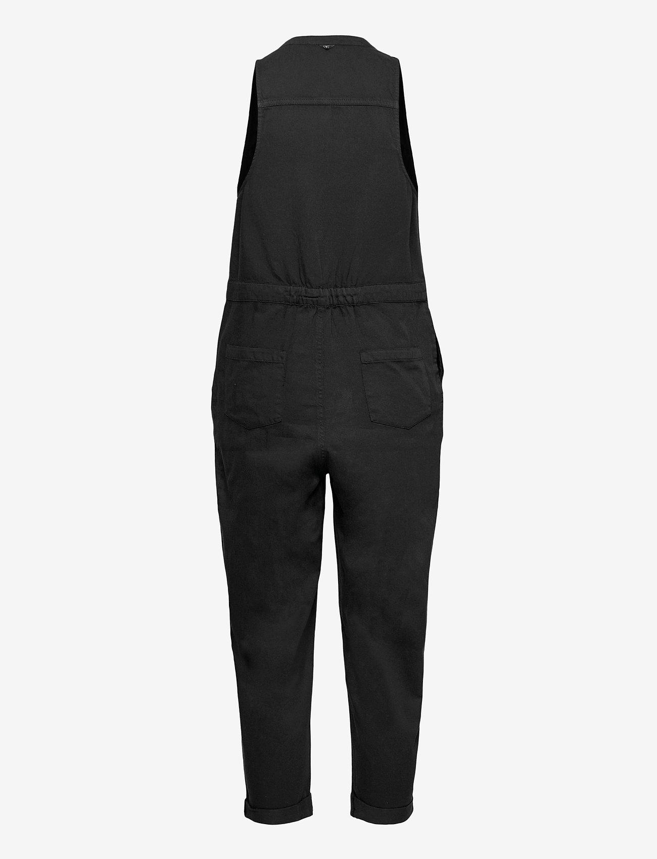 Superdry - SLEEVELESS JUMPSUIT - clothing - black wash - 1