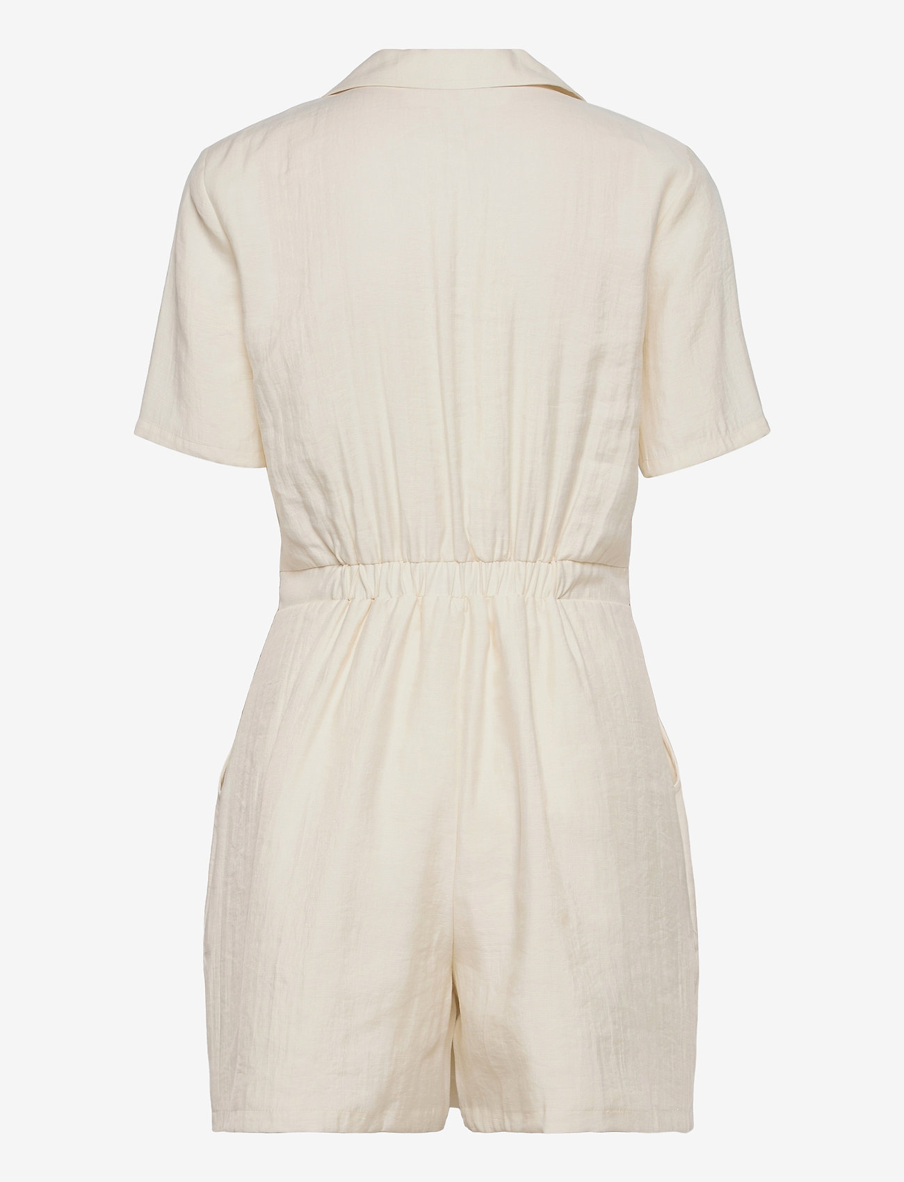Superdry - WIDE LEG PLAYSUIT - jumpsuits - oyster - 1