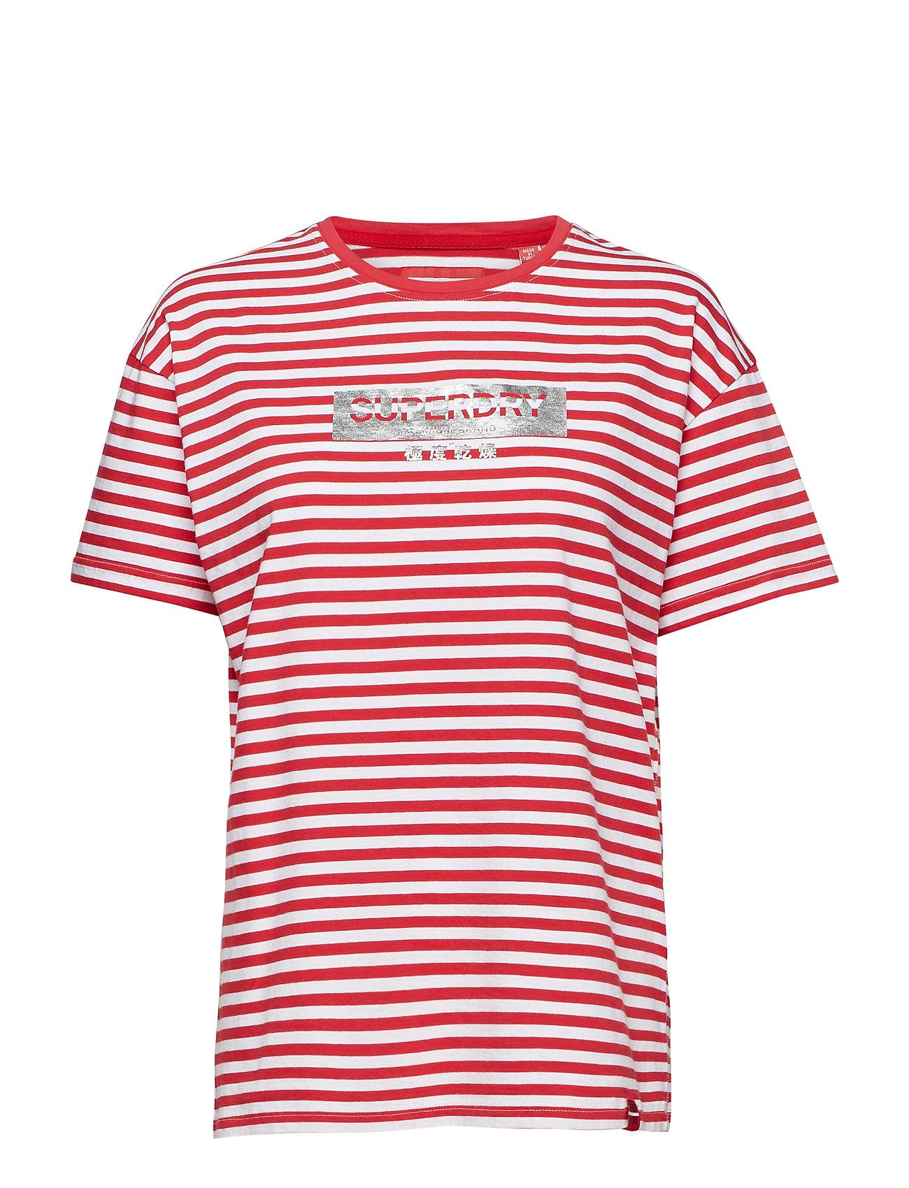 Minimal Red Stripe Portland Logo StripeSuperdry optic Teenautical KTclFJ1