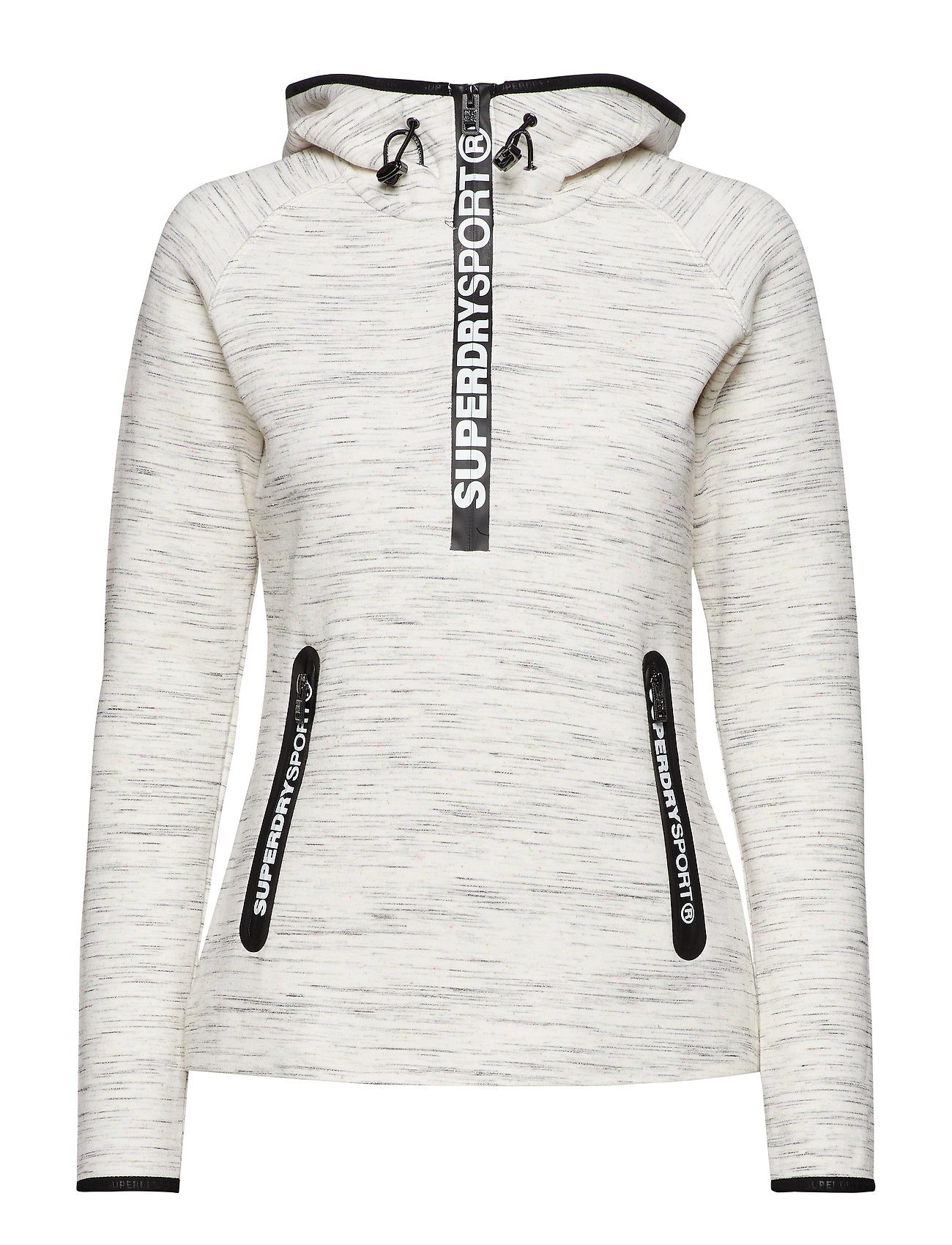 Superdry SUPERDRY GYM TECH HALF ZIP HOOD