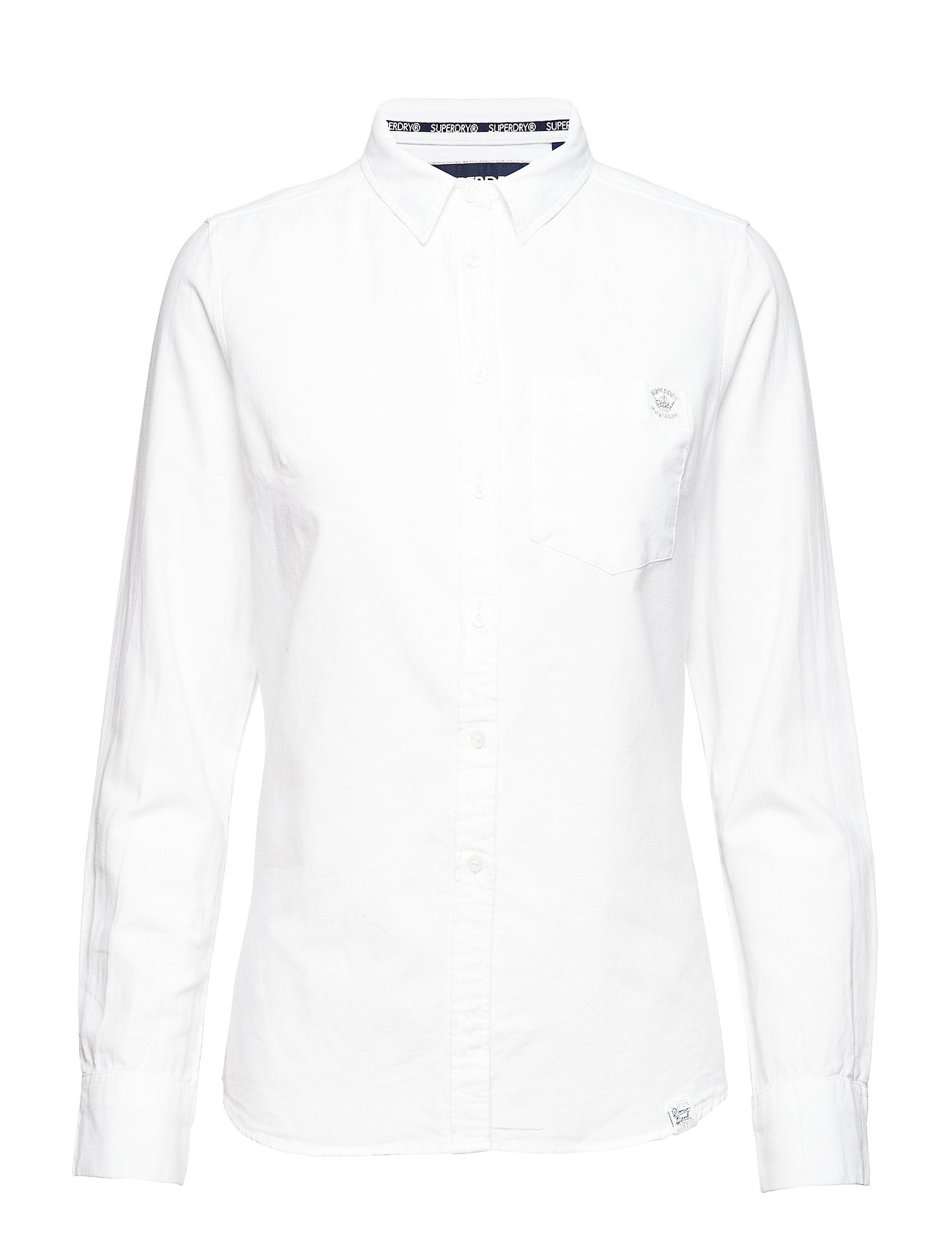 Superdry OXFORD SHIRT - WHITE