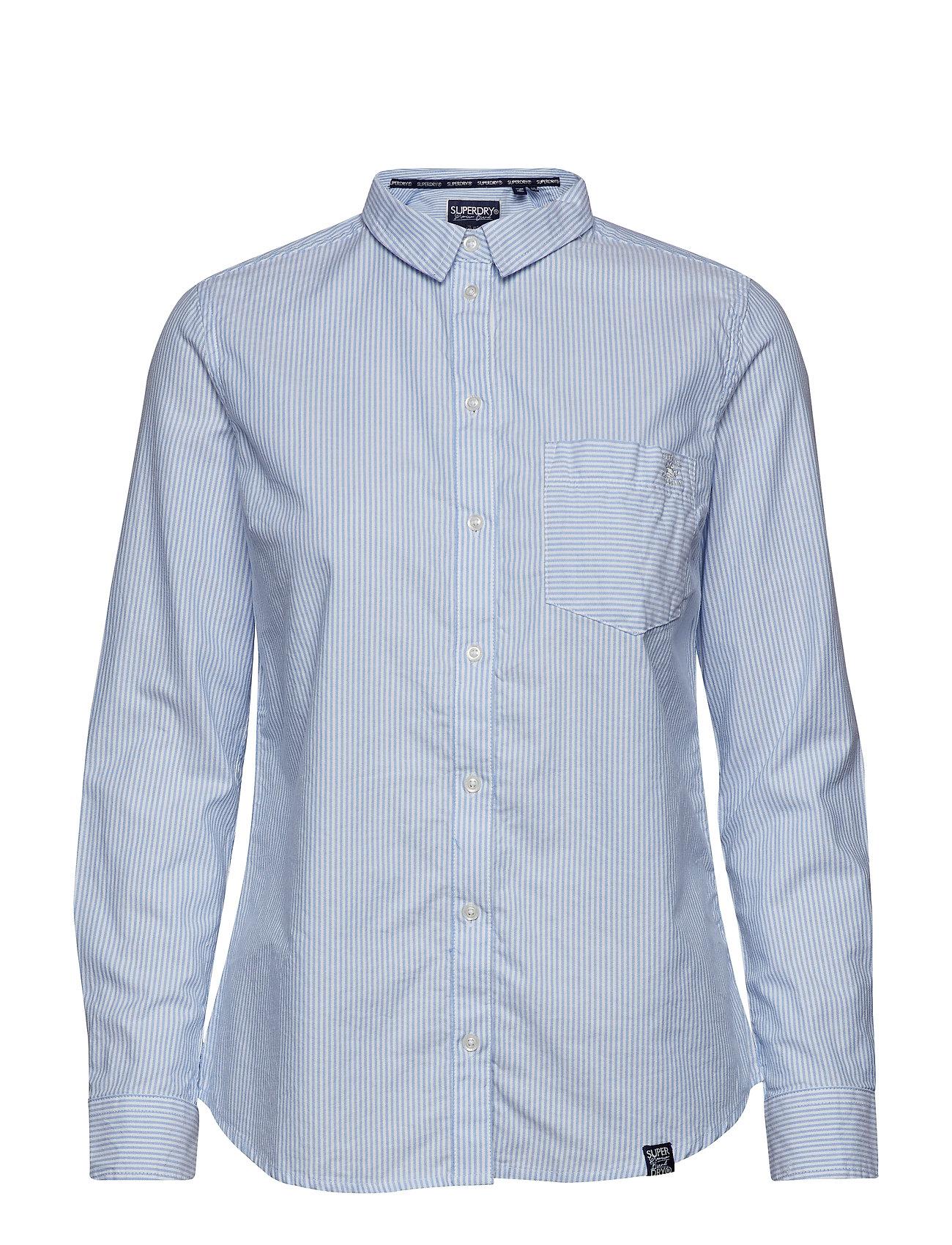 Stripe StripeSuperdry Oxford Shirtblue StripeSuperdry Oxford Stripe Shirtblue A435RLj