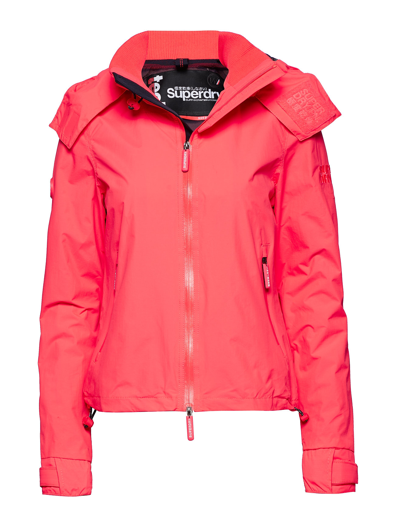 Nbcoral Hiker deep Cliff MarineSuperdry Hooded Punch tCrshQd