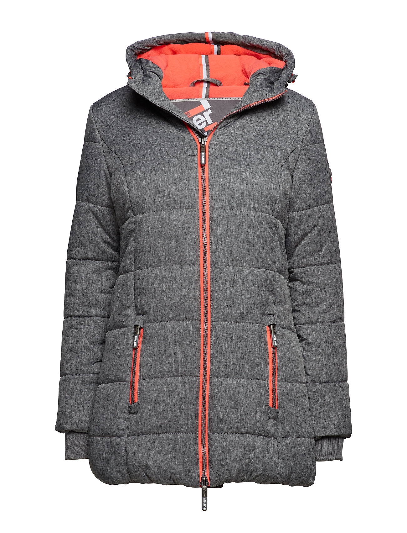 Superdry TALL SPORTS PUFFER - GREY MARL