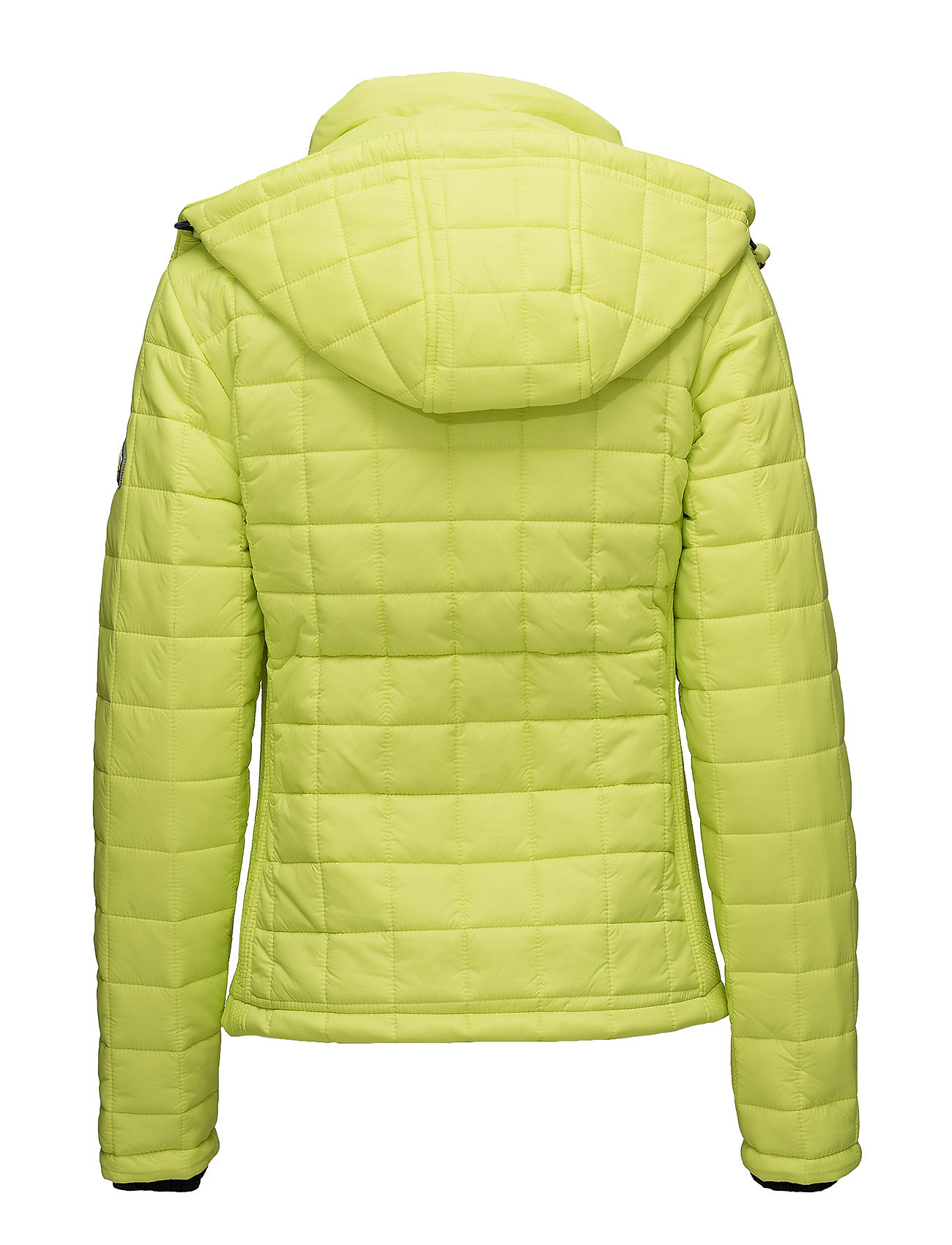 YellowSuperdry Box Code Hooded Fuji Quilt Jacketsport shrtQd