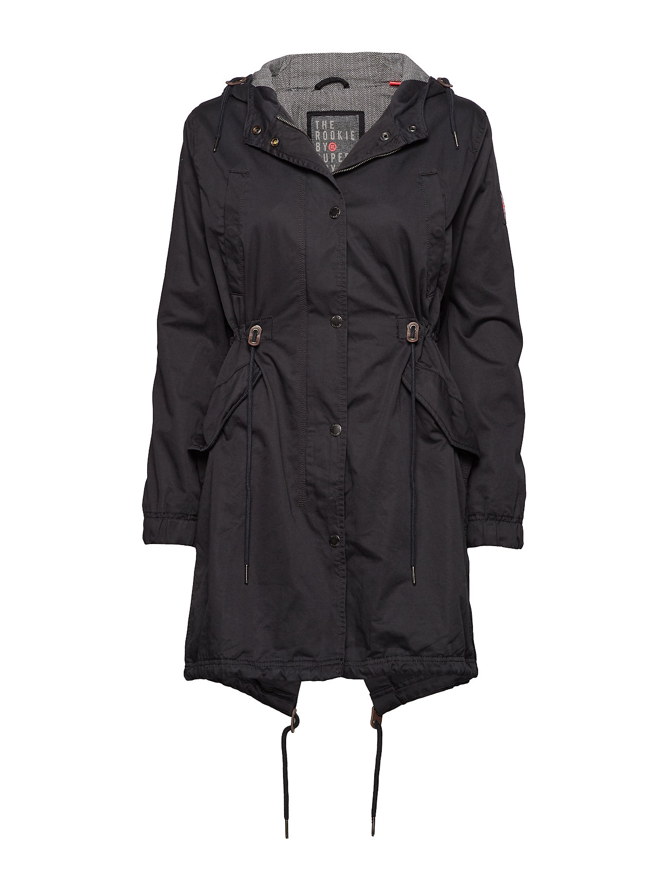 Superdry ROOKIE MILITARY PARKA - DARK NAVY