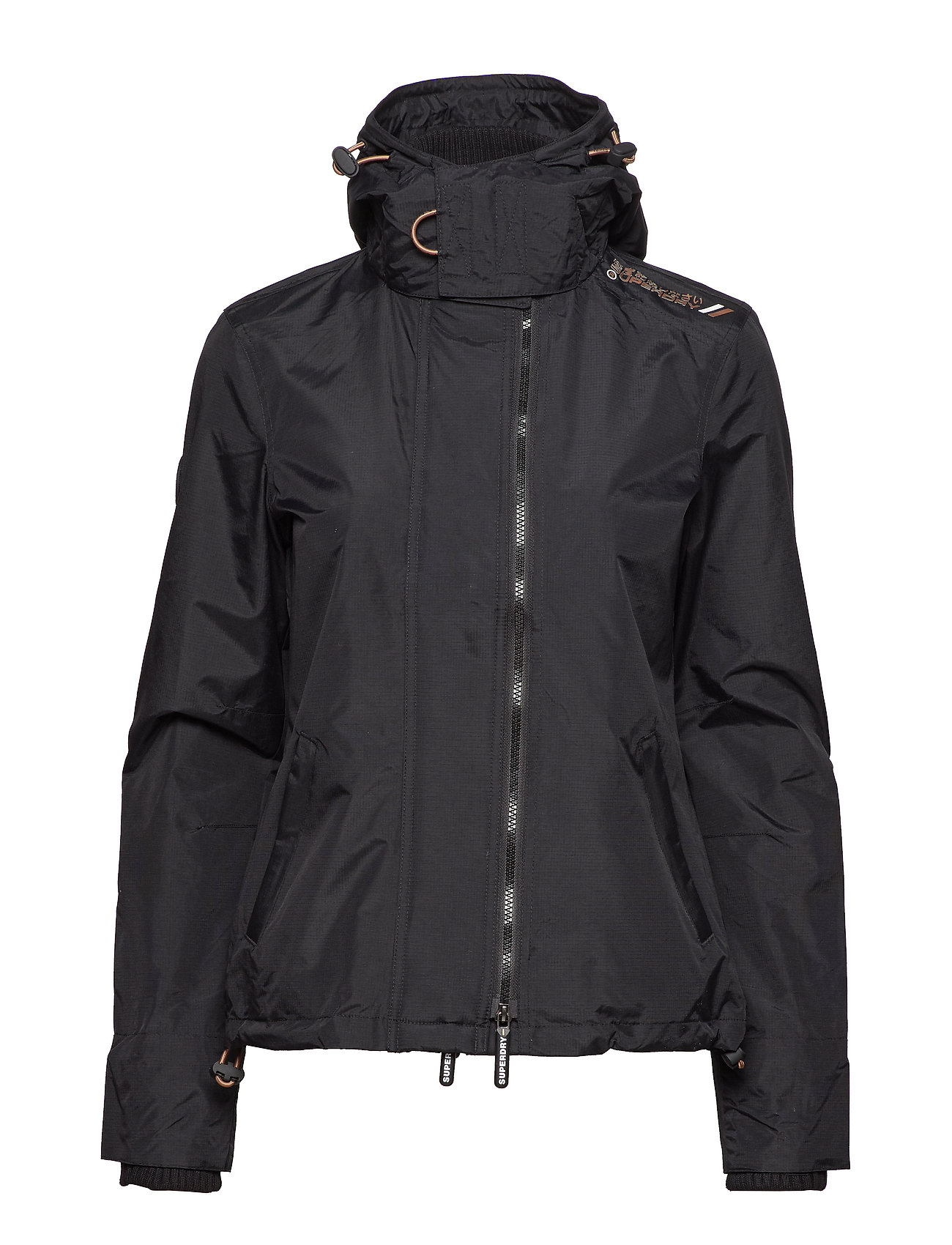 Hooded Wndcheaterblack Tech GemstoneSuperdry Pop Zip lurex TOXZiPkuw
