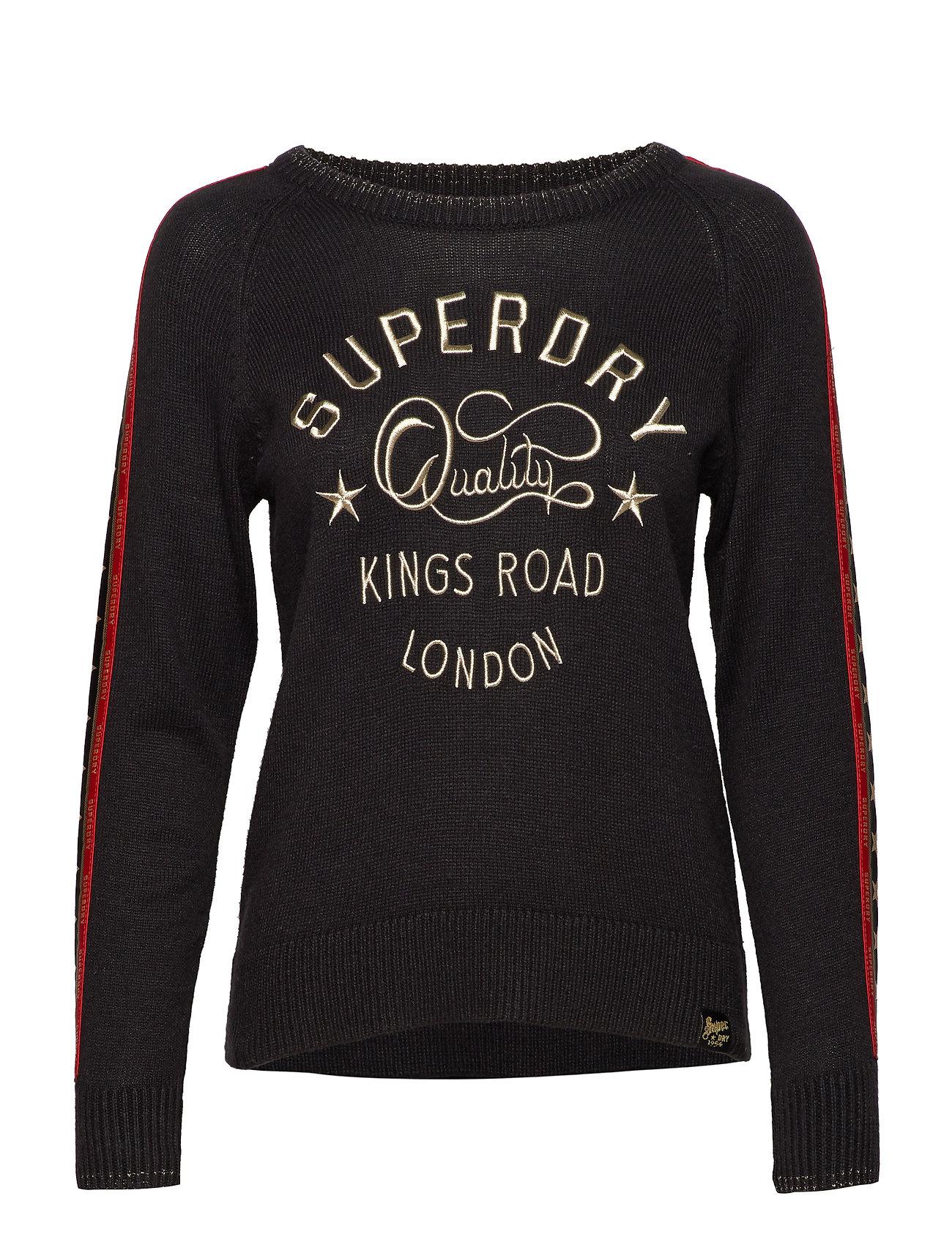 Superdry SUPERDRY ROCK JUMPER - BLACK