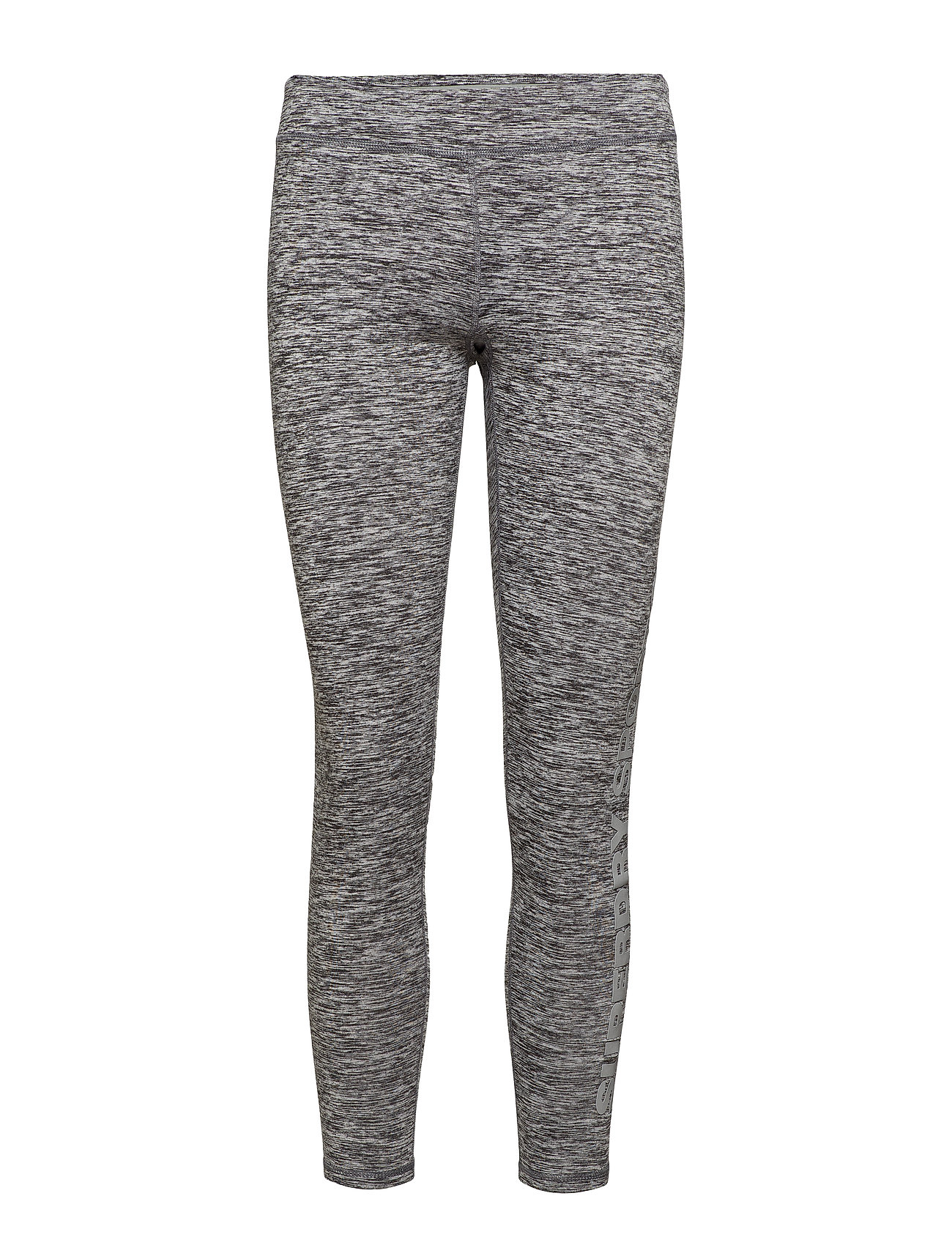 Superdry SUPERDRY CORE GYM LEGGING - SPECKLE CHARCOAL