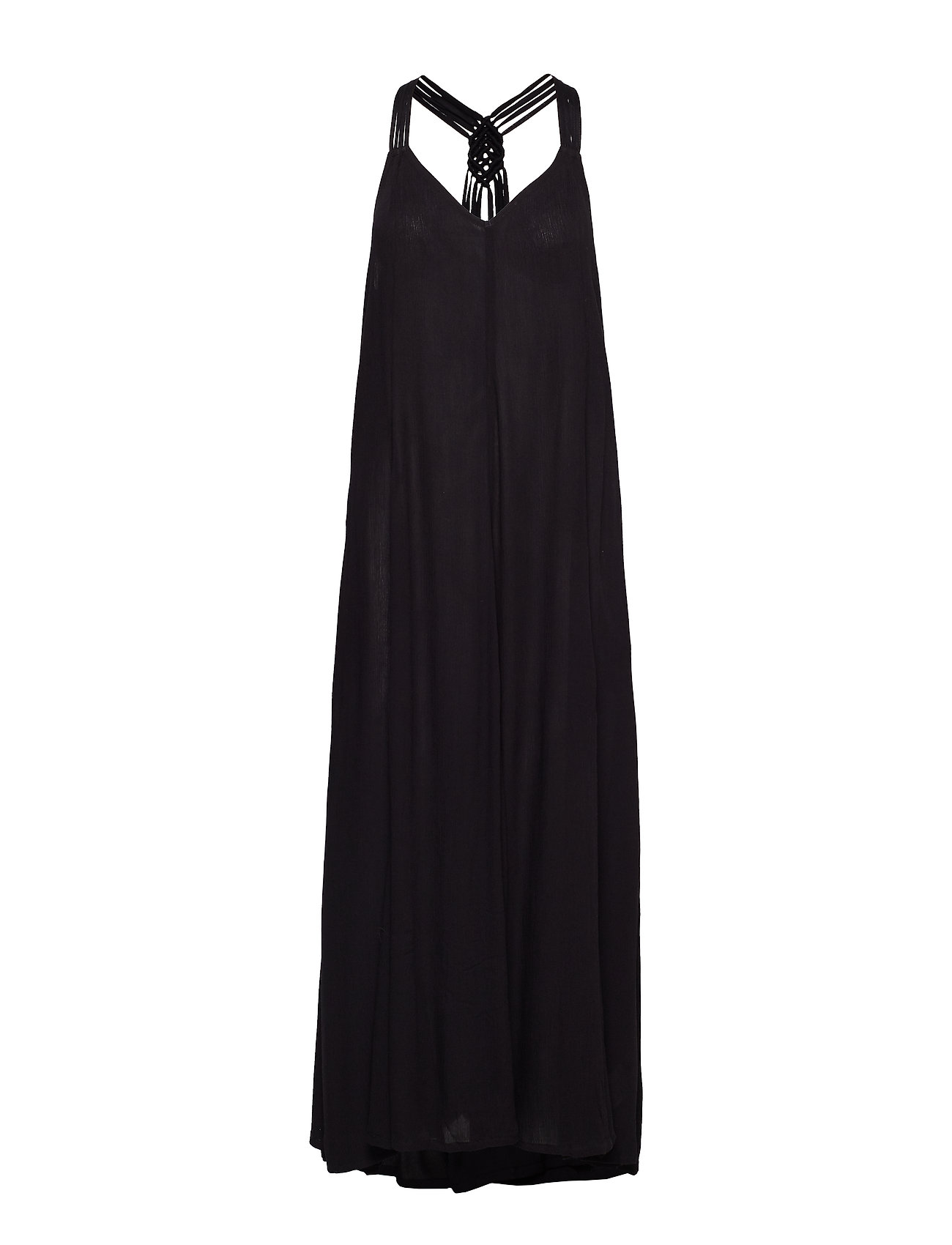 Superdry CARISSA MACRAME MAXI DRESS - BLACK
