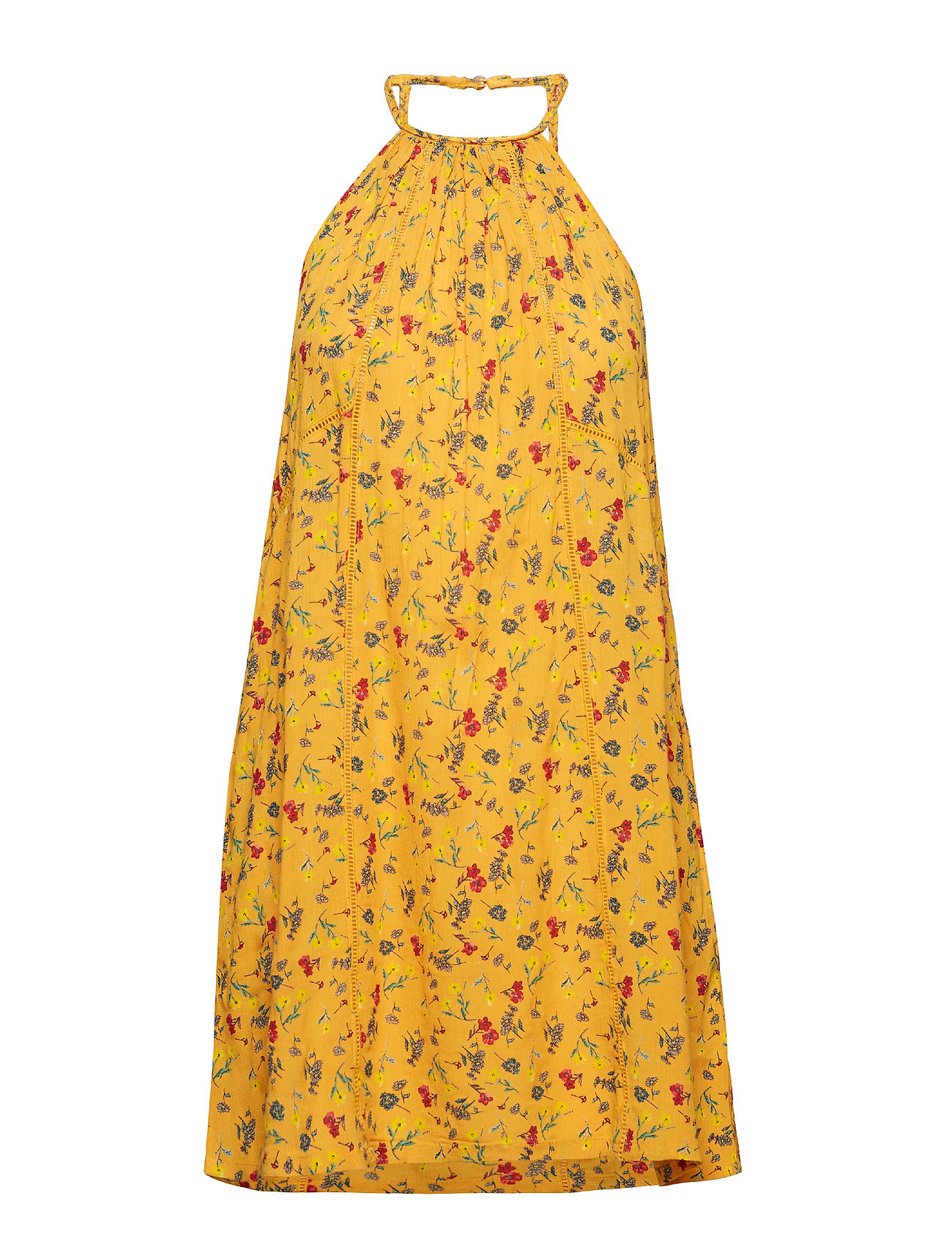 4fdeaced0b44f Riley Lace Halter Dress (Buttercup) (41.24 €) - Superdry - | Boozt.com