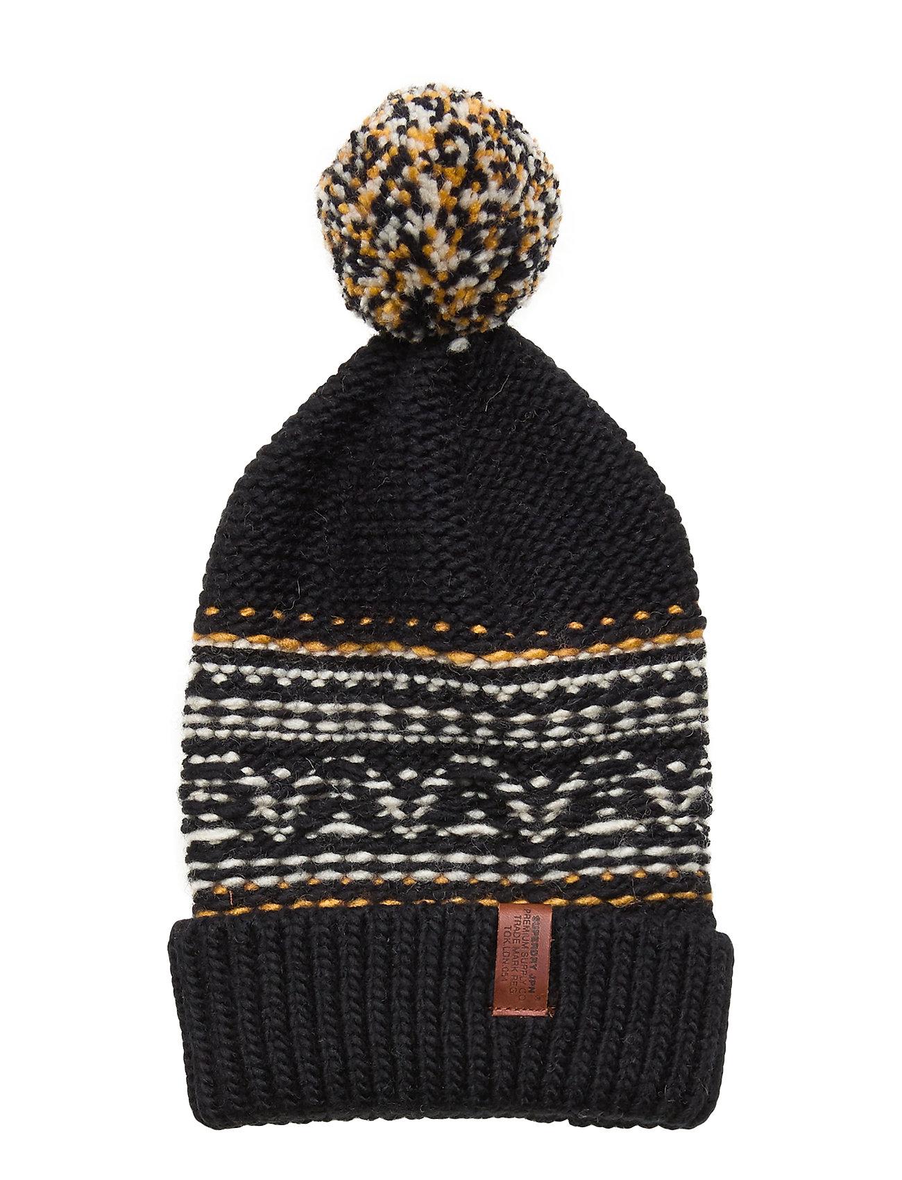 Image of Rhumi Bobble Hat Accessories Headwear Beanies Blå Superdry (3292991285)
